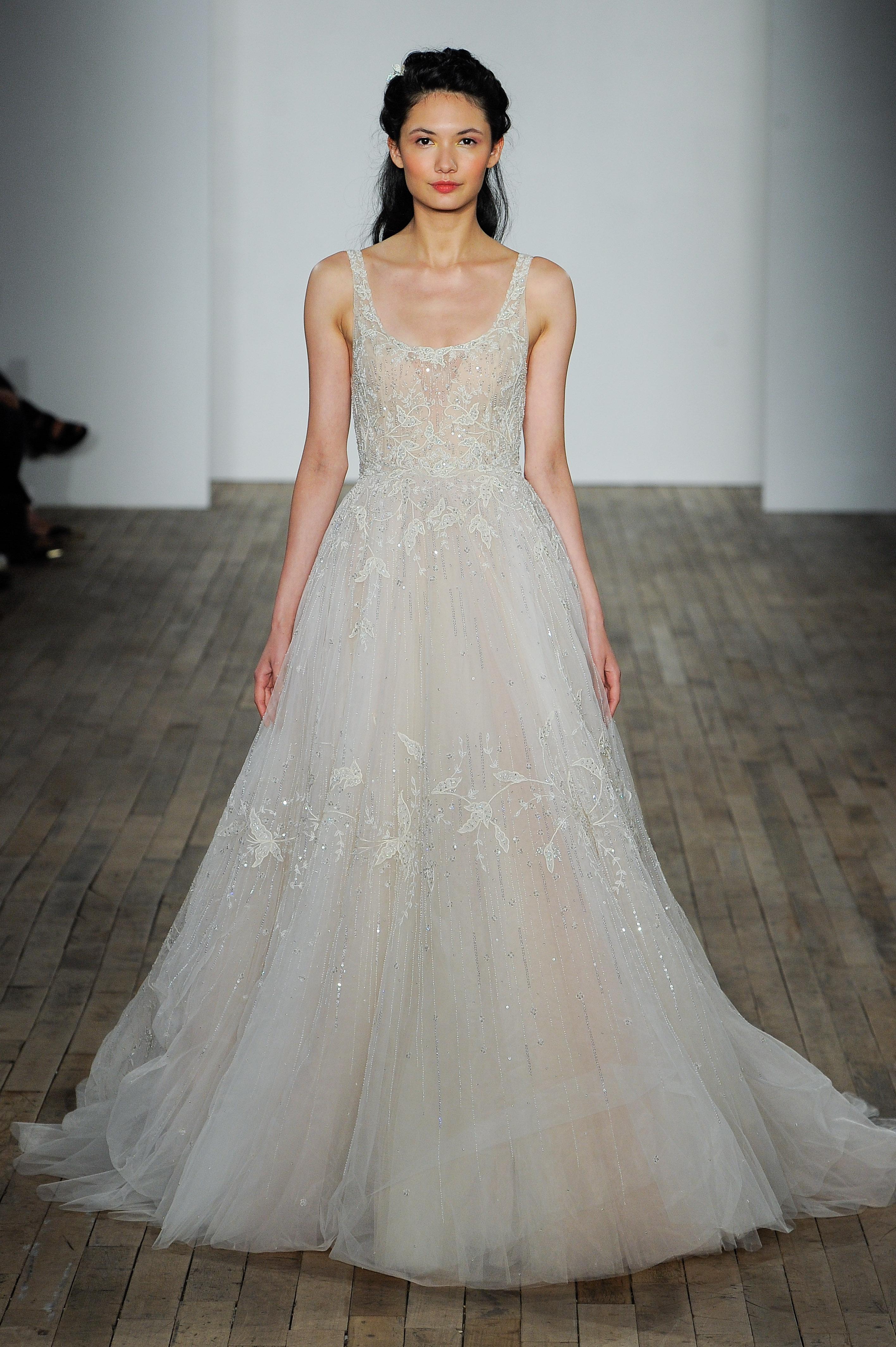 Lazaro Fall 2018 Wedding Dress Collection Martha Stewart Weddings