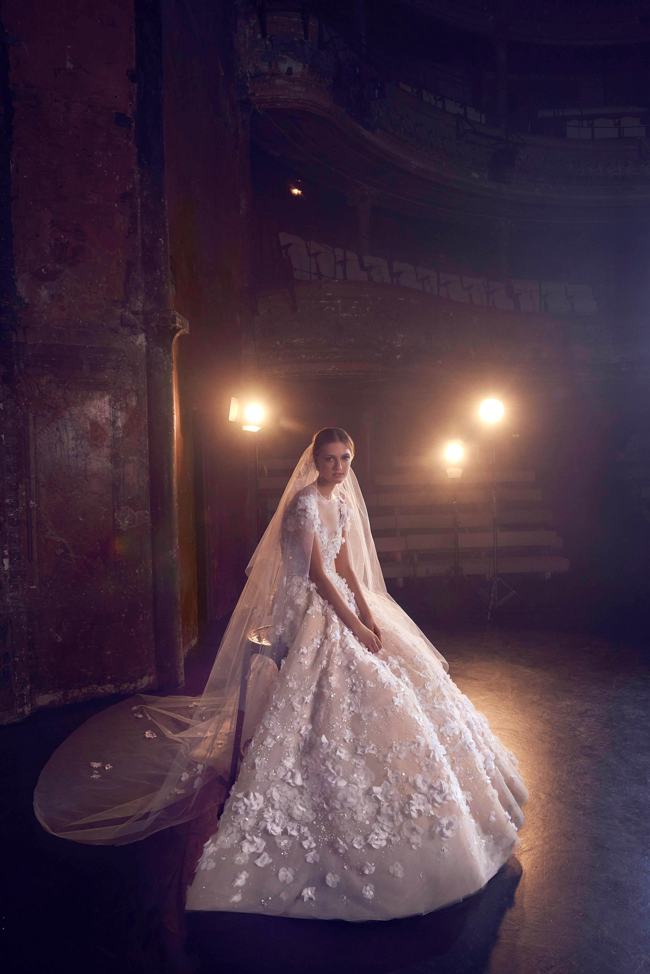 Elie Saab Fall 2018 Wedding Dress Collection Martha Stewart Weddings