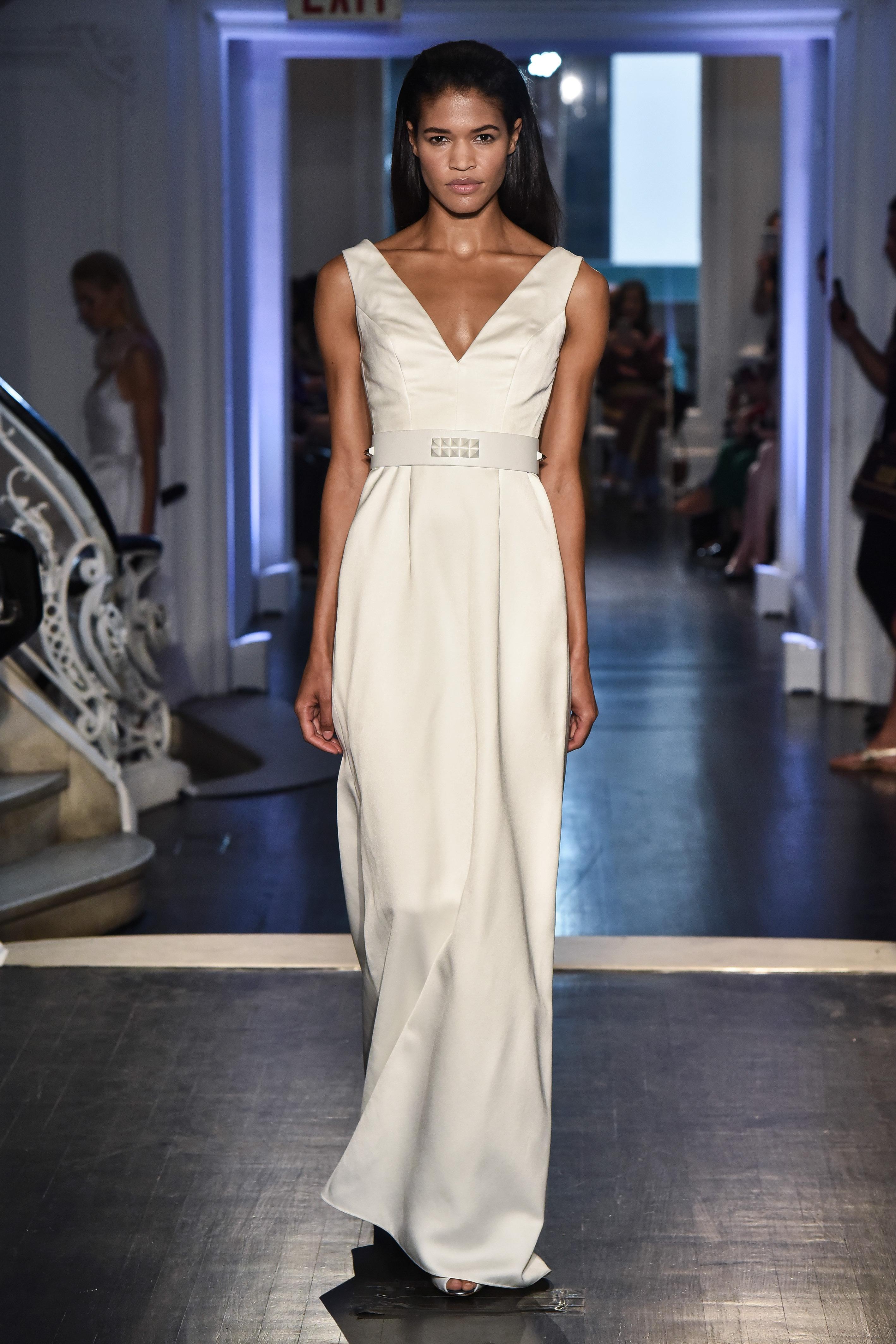 lakum wedding dress fall 2018 v-neck a-line
