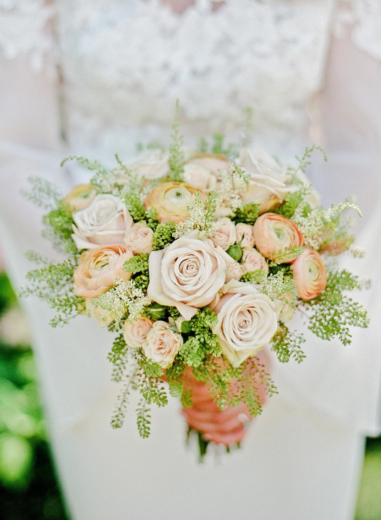 melissa michael wedding bridal bouquet