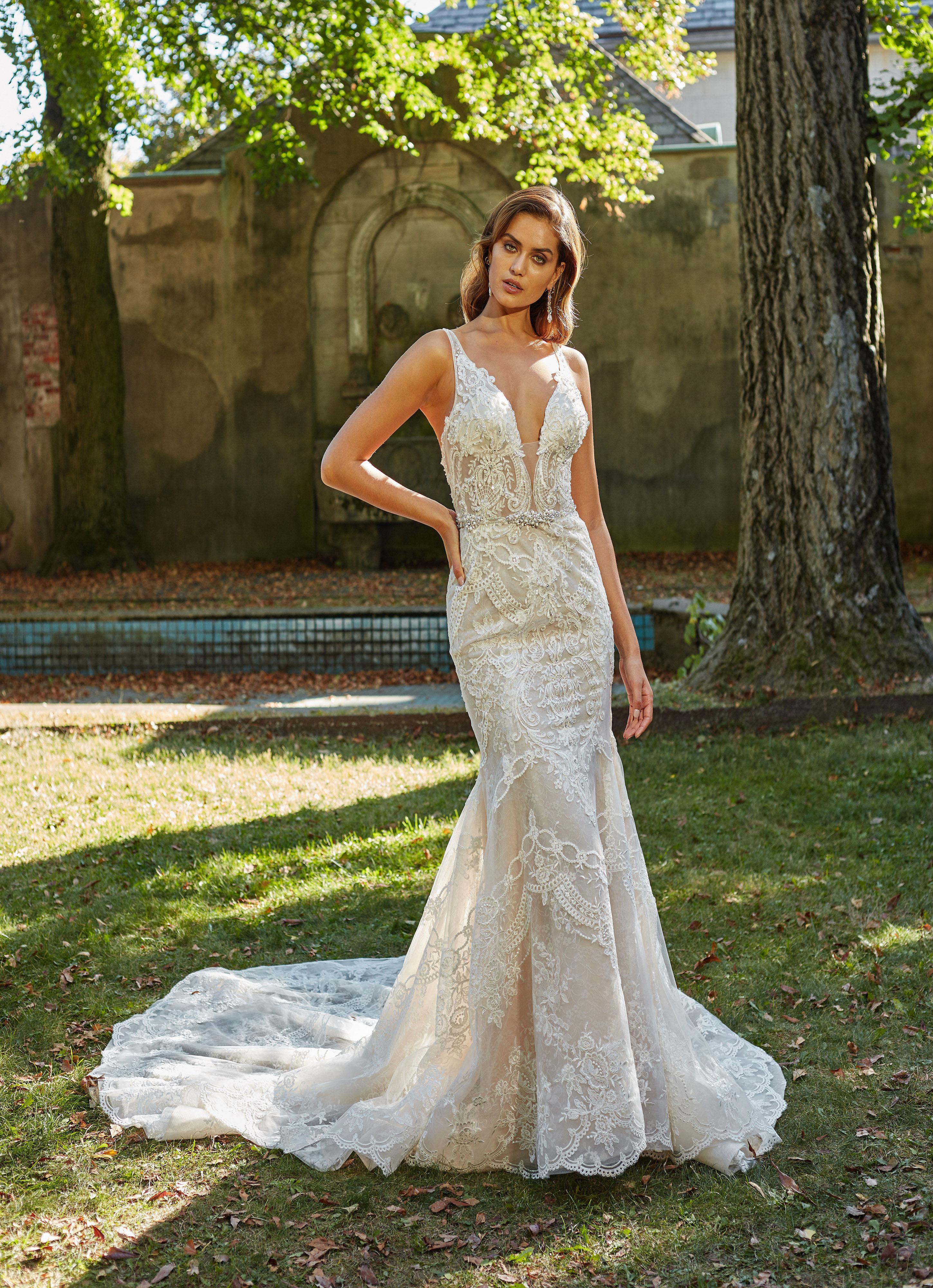 eve of milady dress fall 2018 v-neck lace