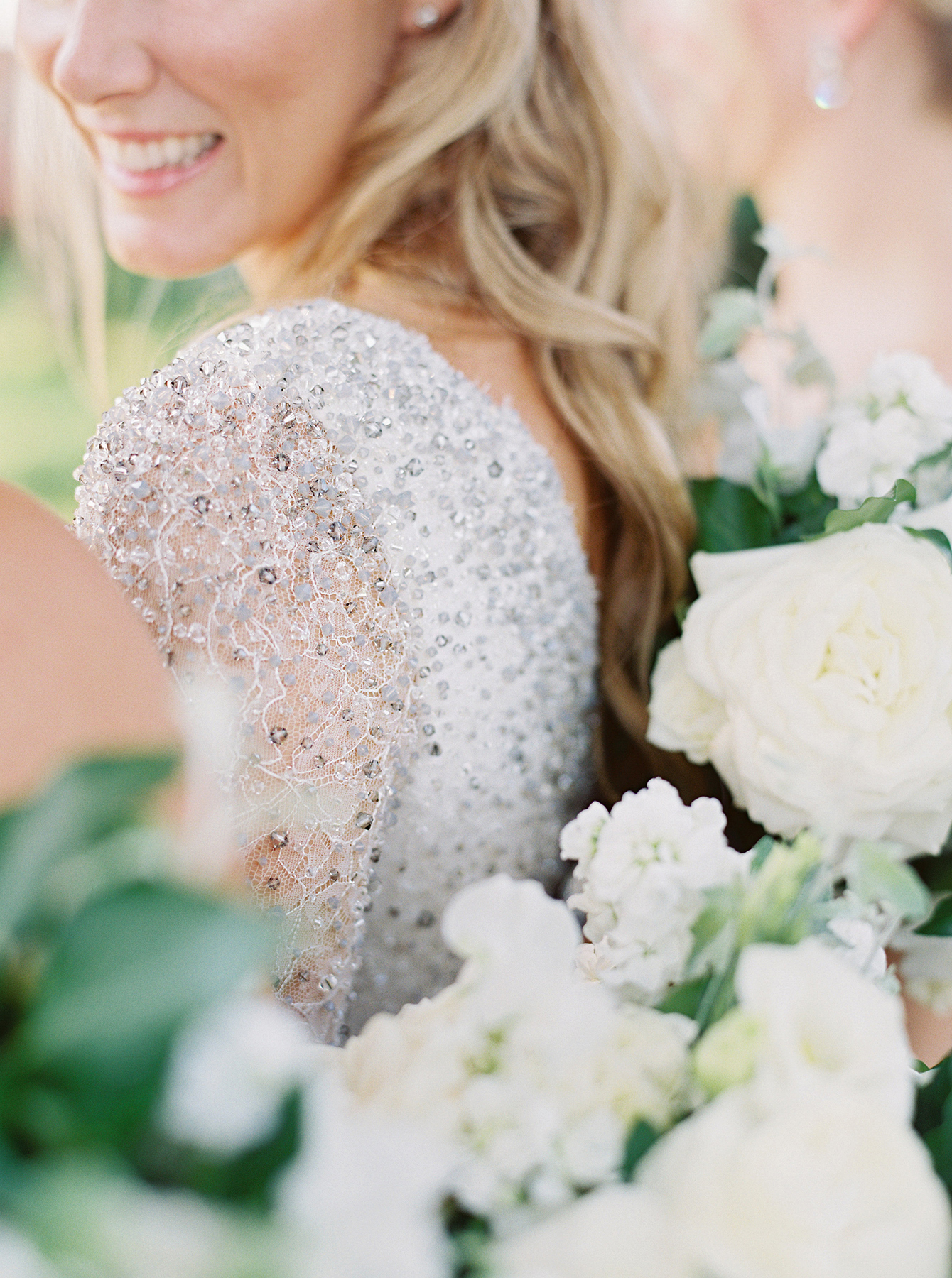 stephanie matt wedding gown detail