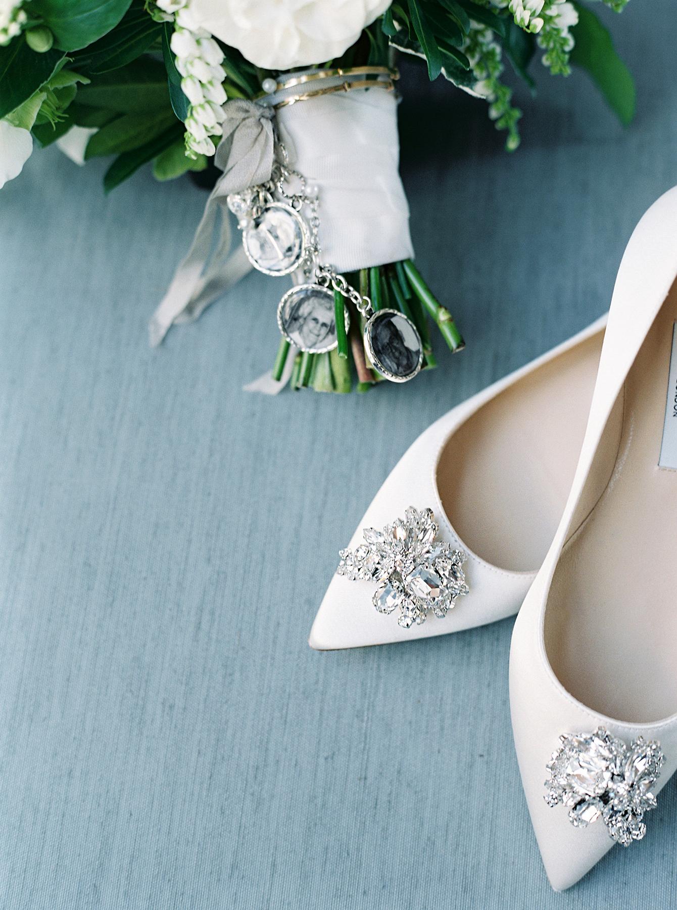 stephanie matt bride shoes and charms