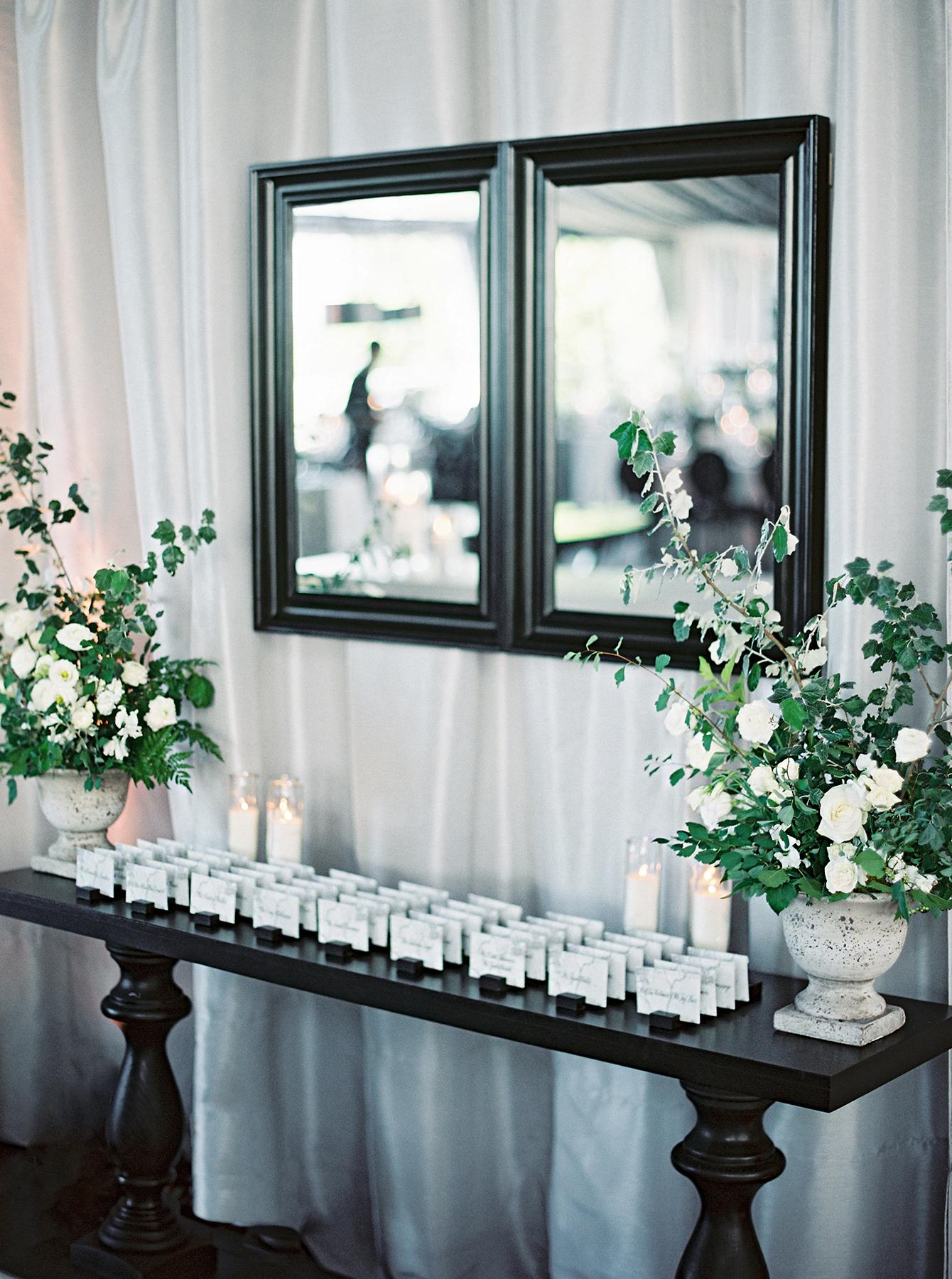 stephanie matt wedding escort cards