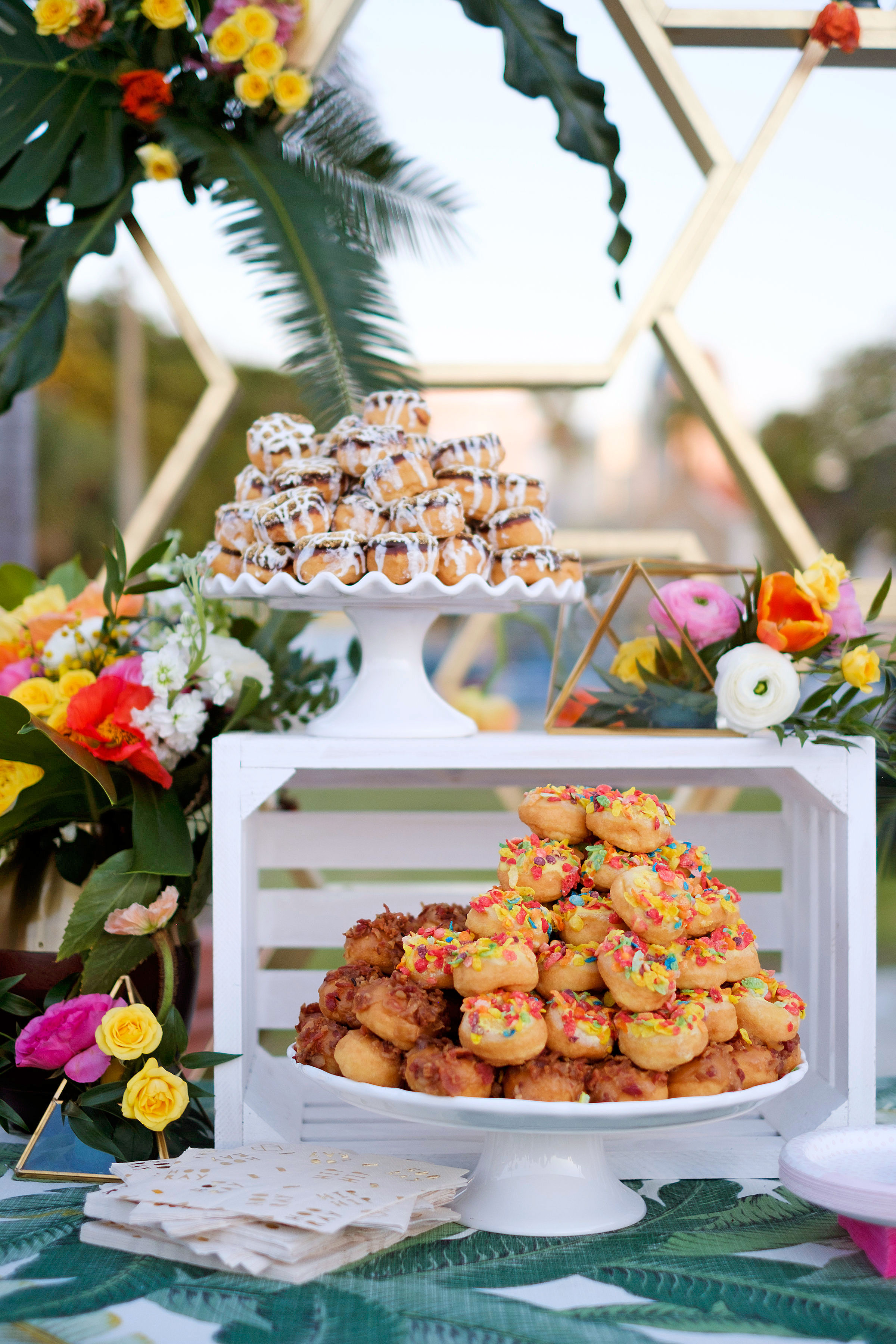 becca zac wedding desserts