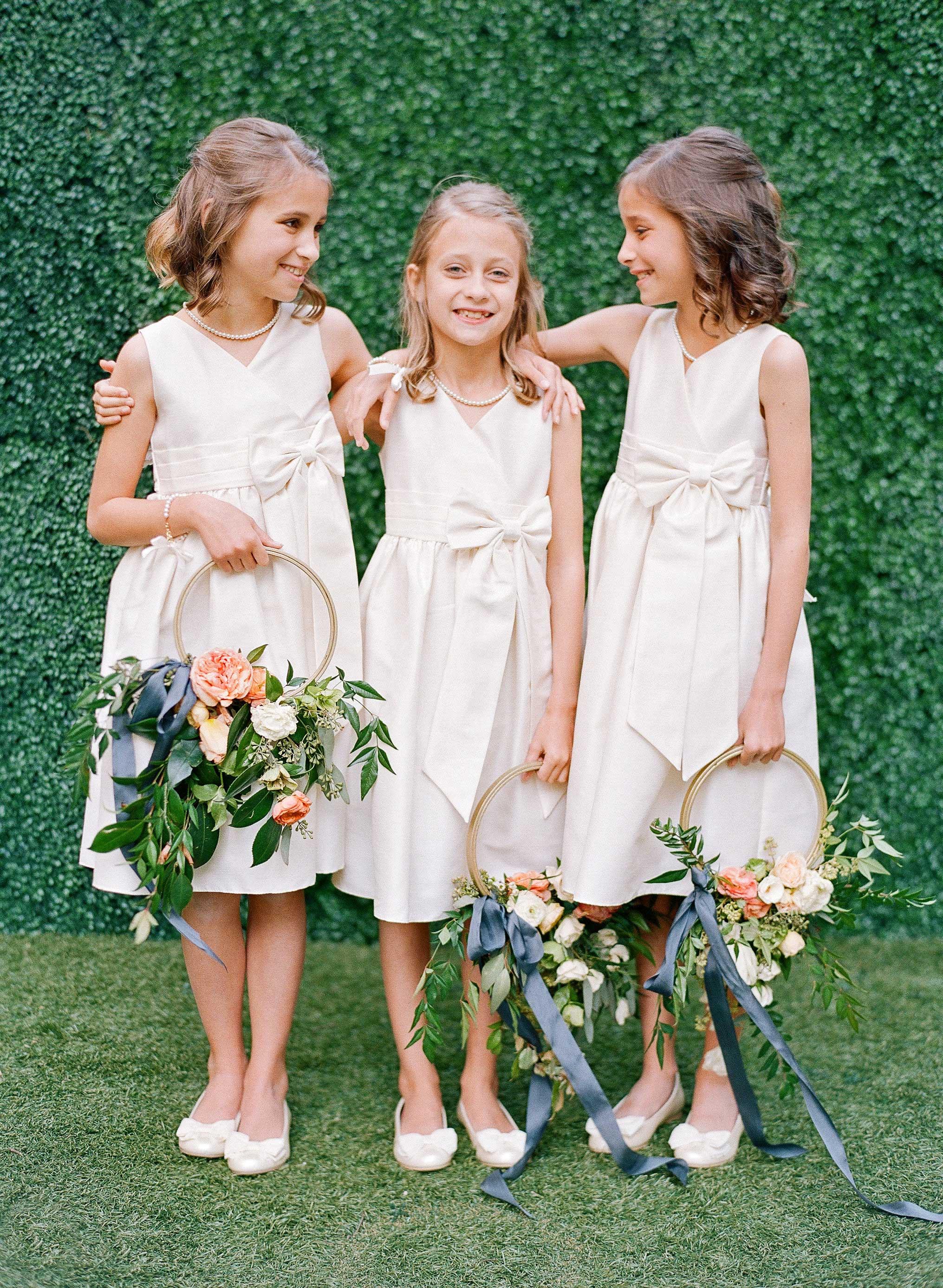 carey jared wedding flower girls