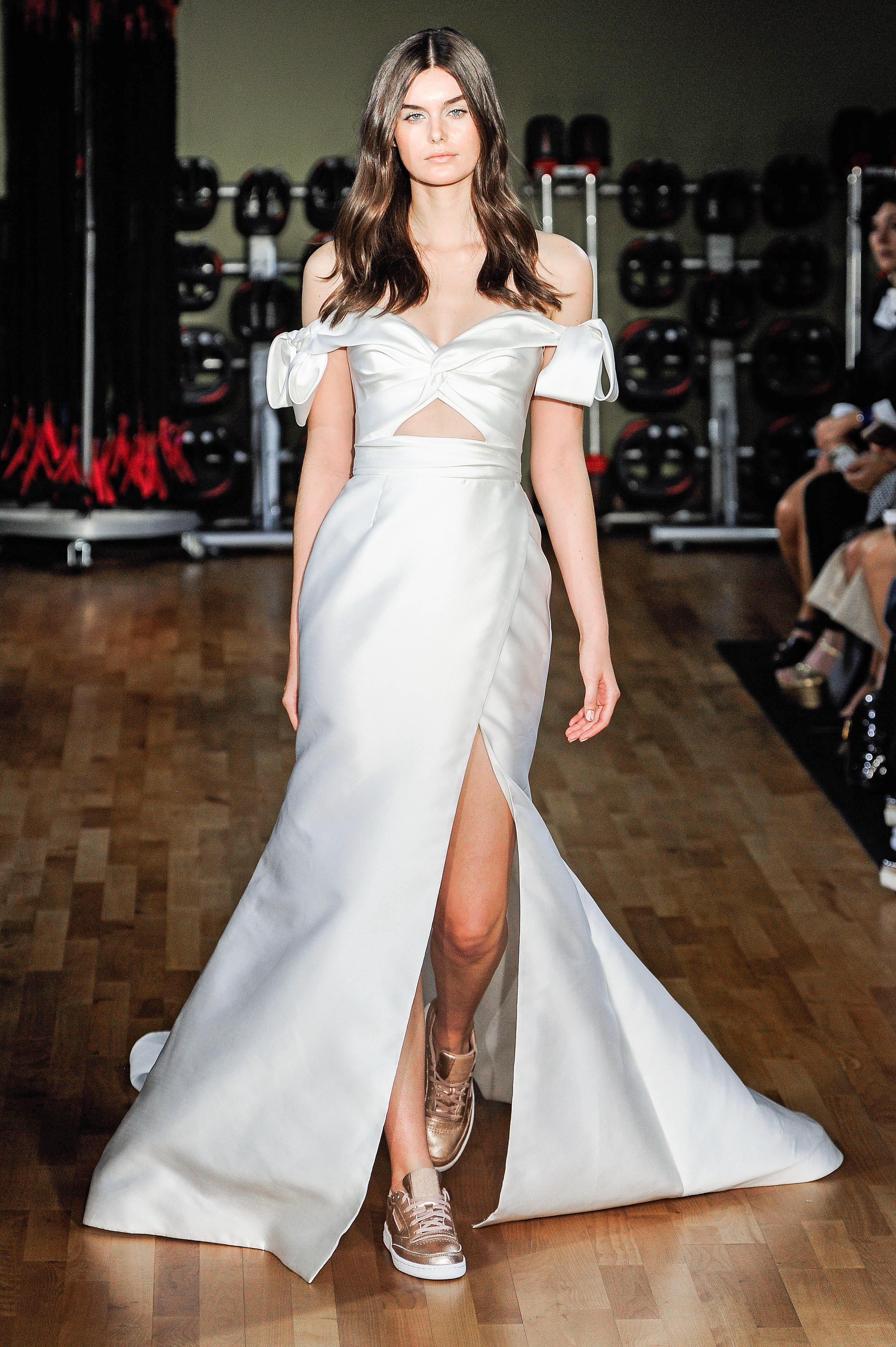 Rivini by Rita Vinieris Off-the-Shoulder Wedding Dress Fall 2018