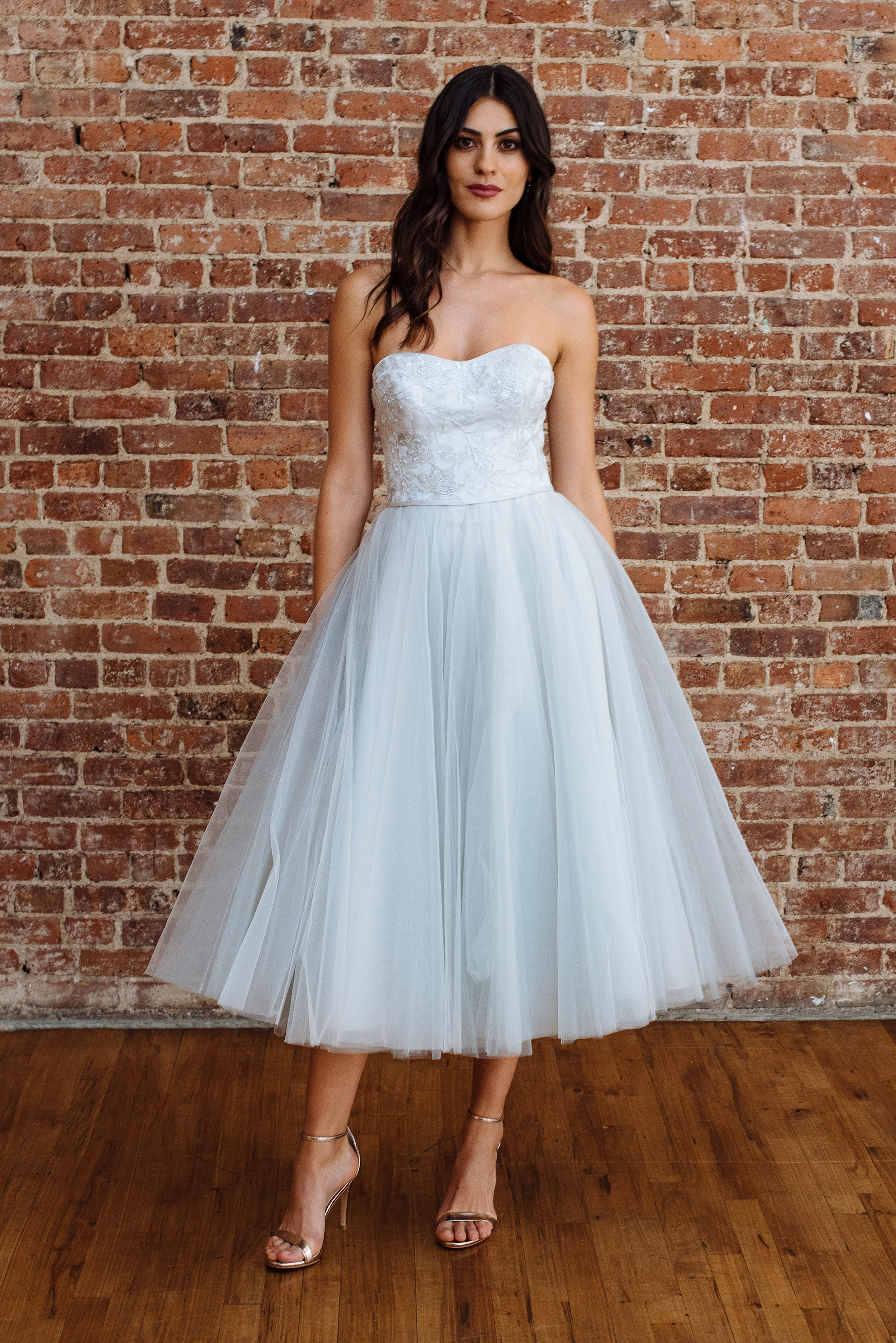 davids bridal fall 2018 wedding dress