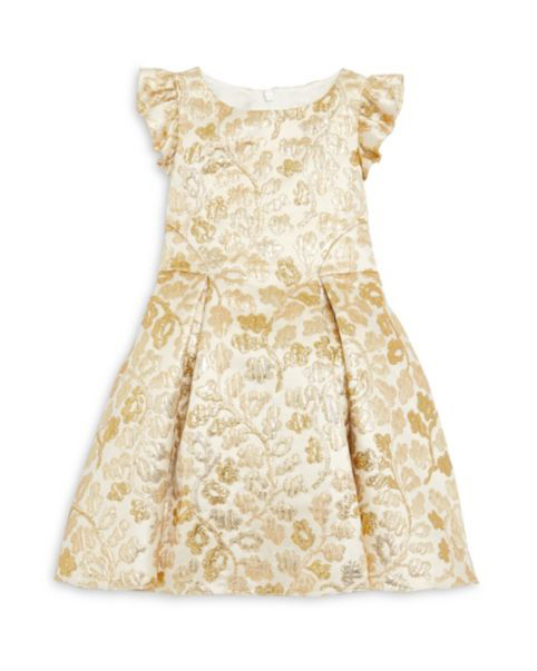 flower girl dress champagne