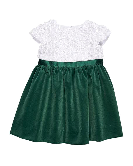 flower girl dark green