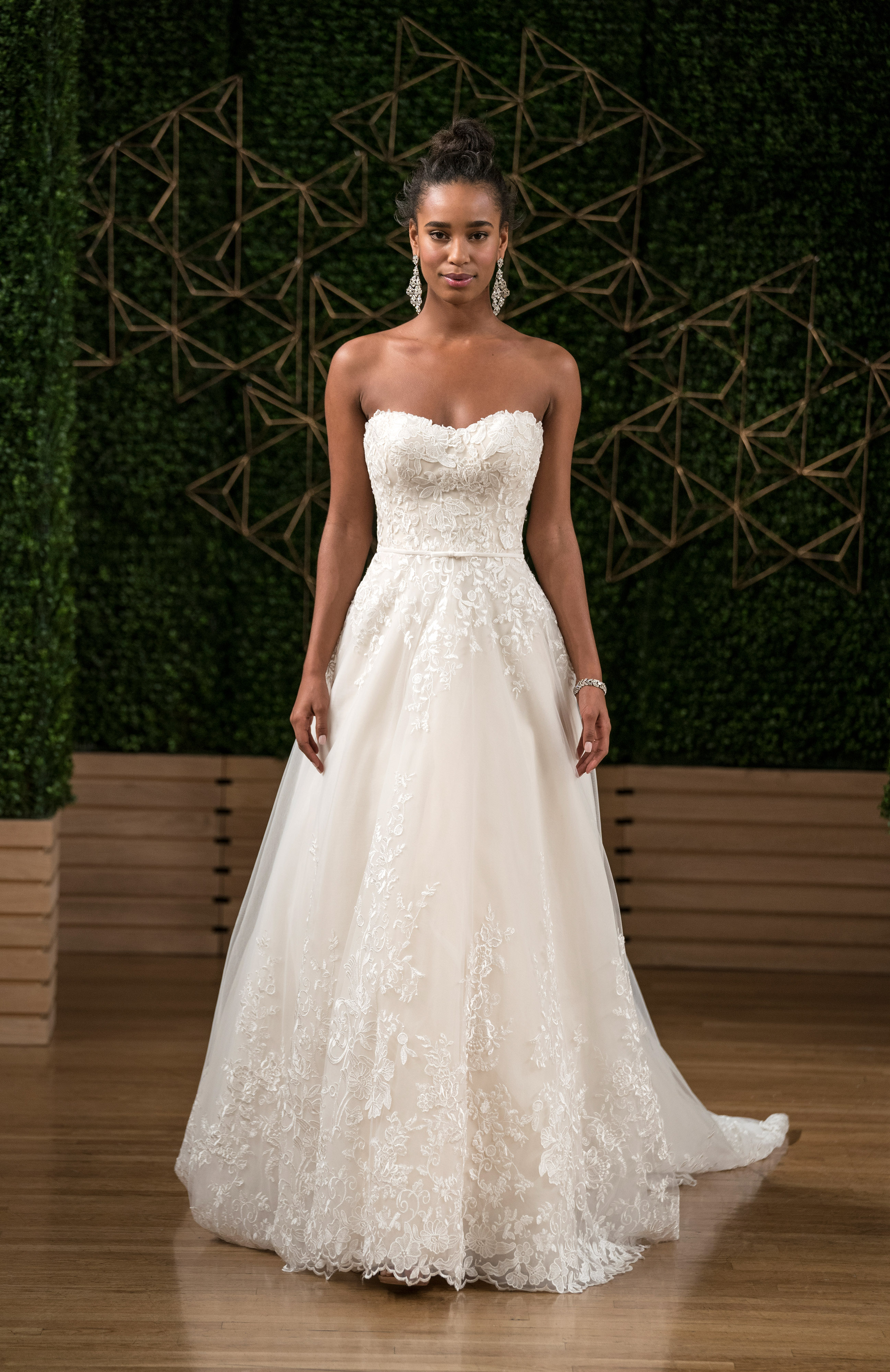 maggie sottero wedding dress fall 2018 strapless a-line lace