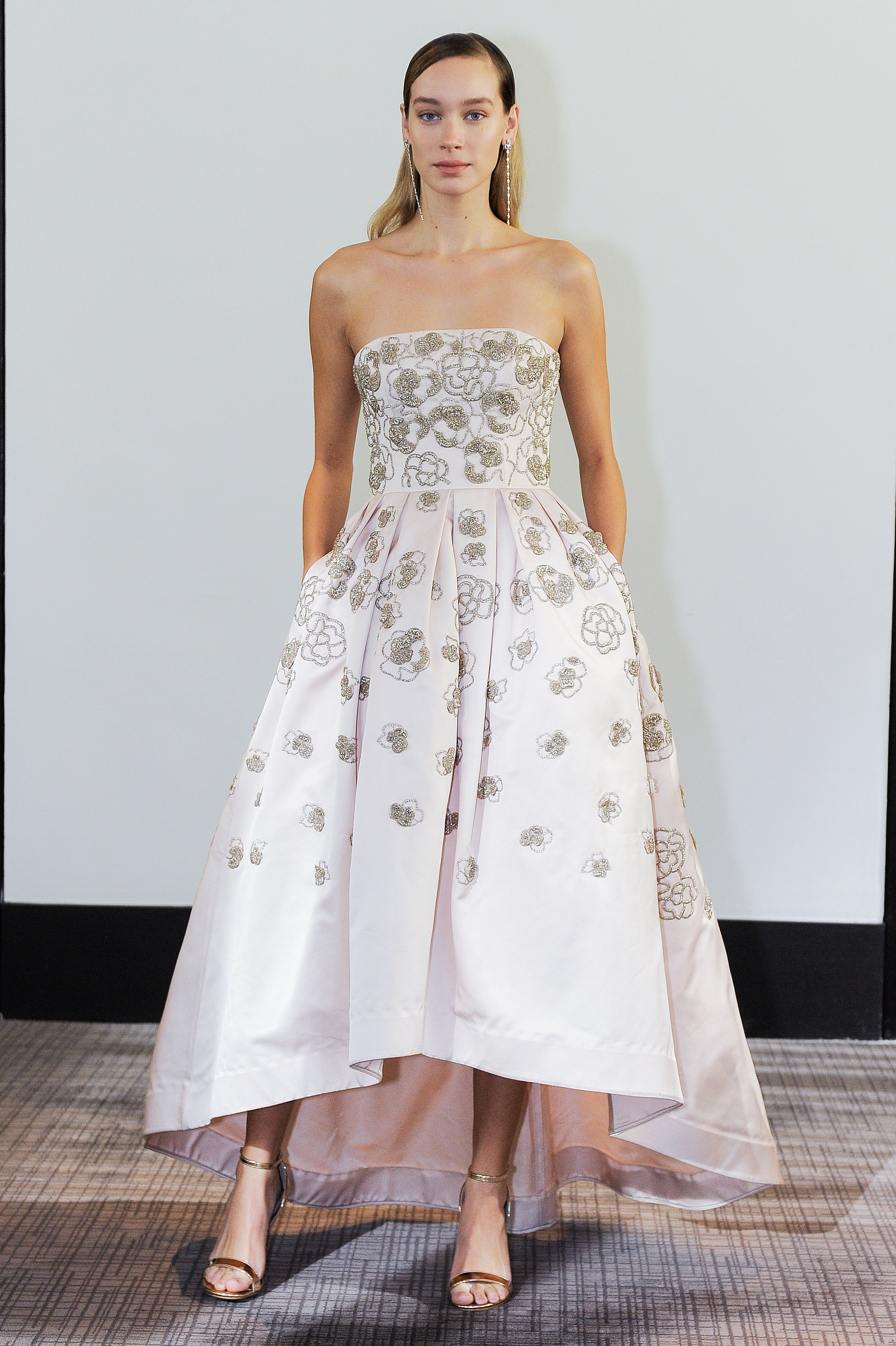 gracy accad strapless a-line wedding dress fall 2018