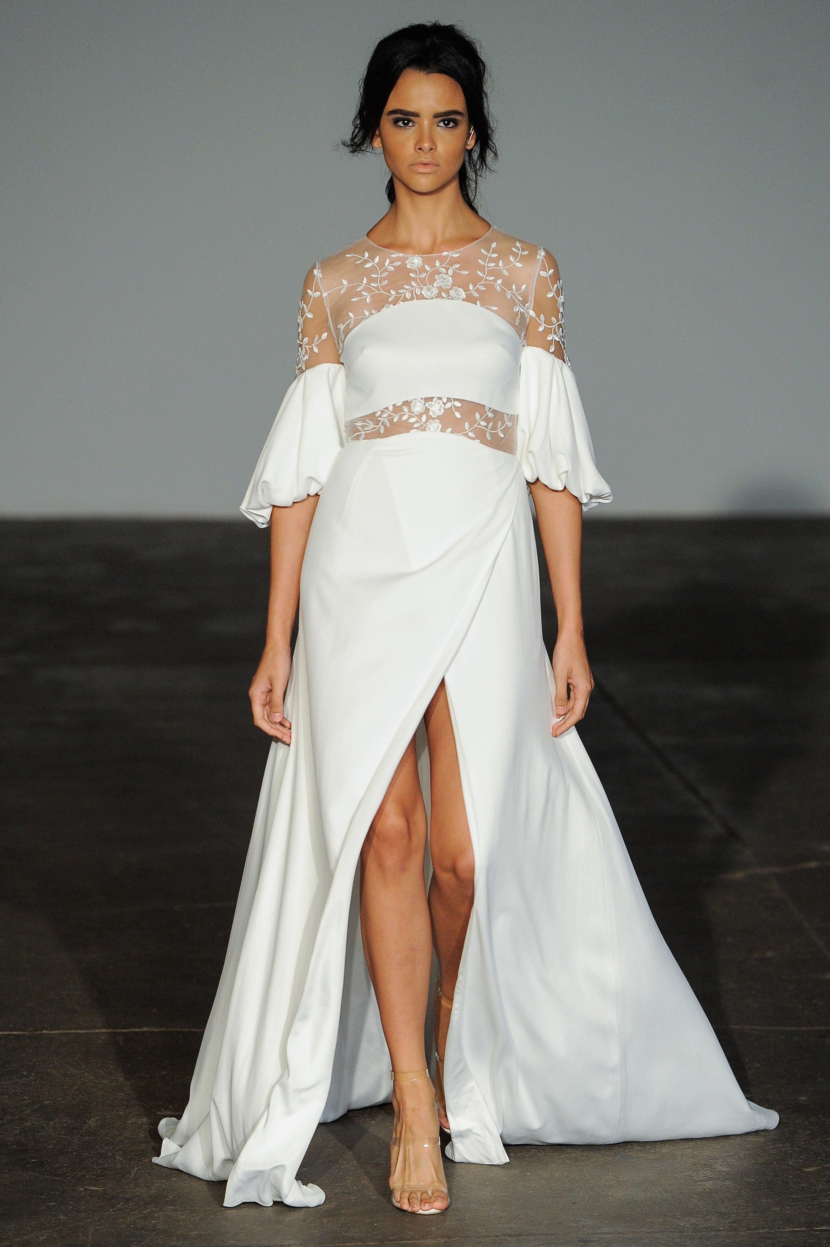 rime arodaky fall 2018 long sleeve wedding dress