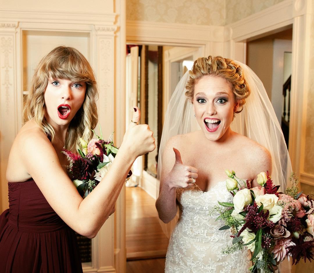 Taylor Swift Wedding Guest