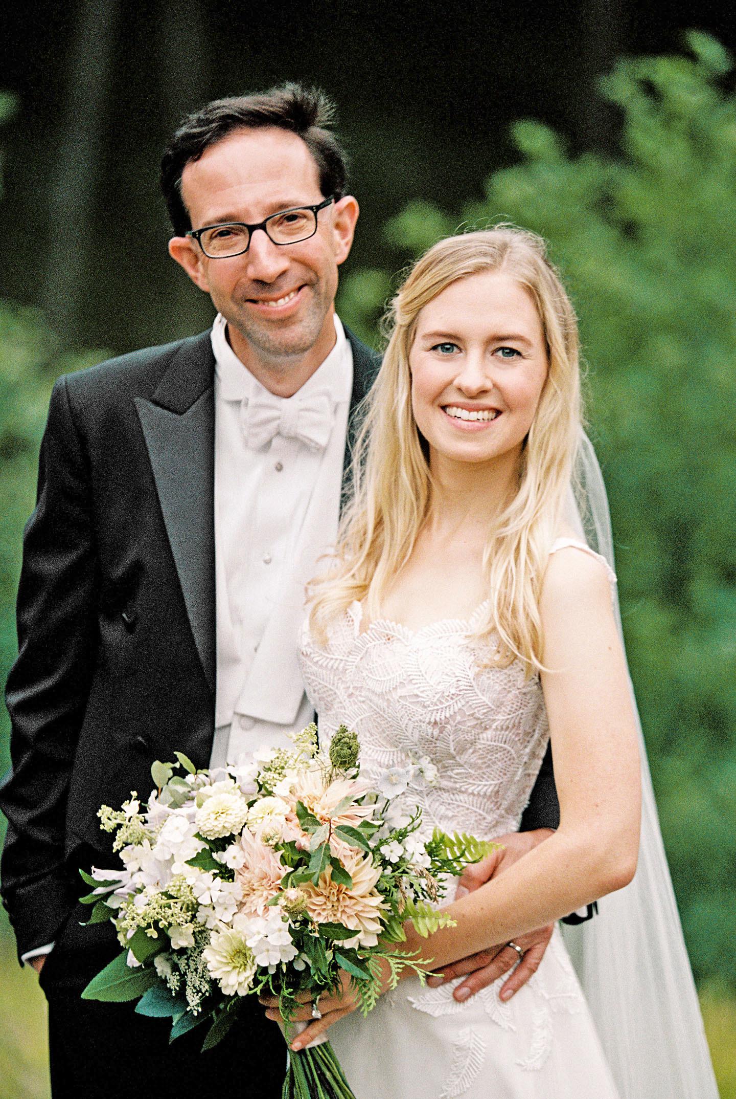adele seth wedding michigan couple