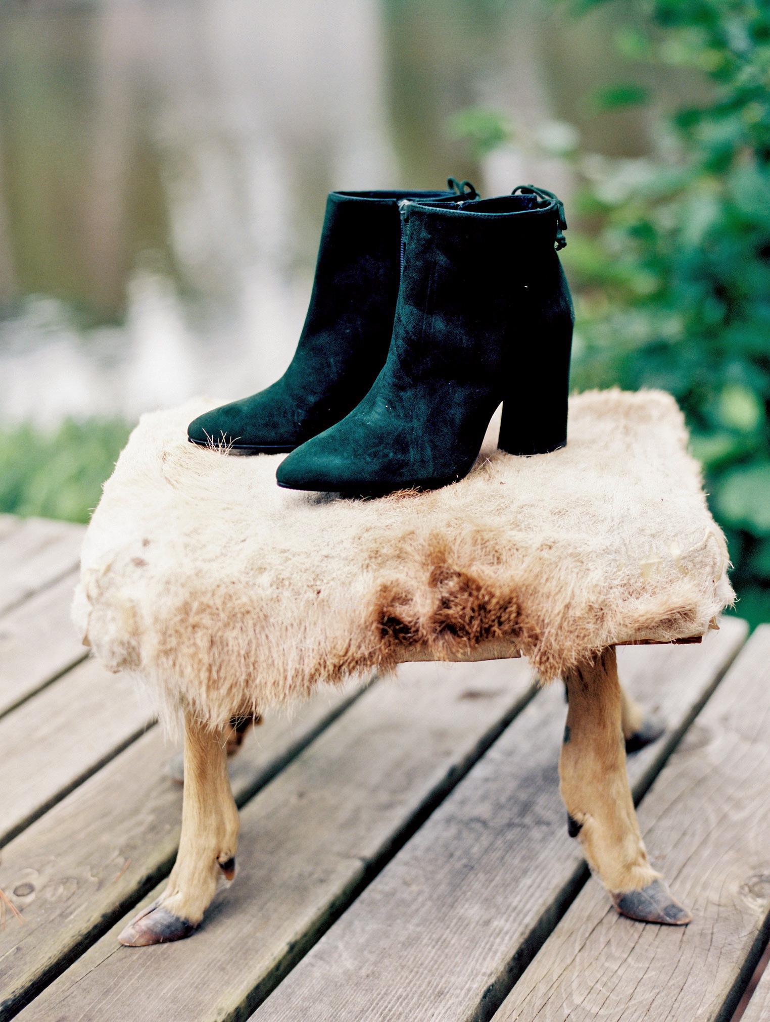 adele seth wedding booties