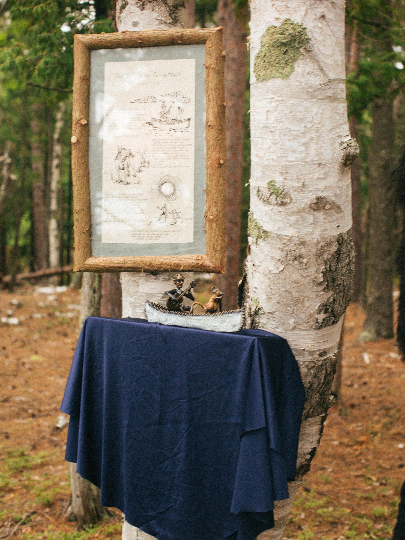 adele seth wedding michigan decor