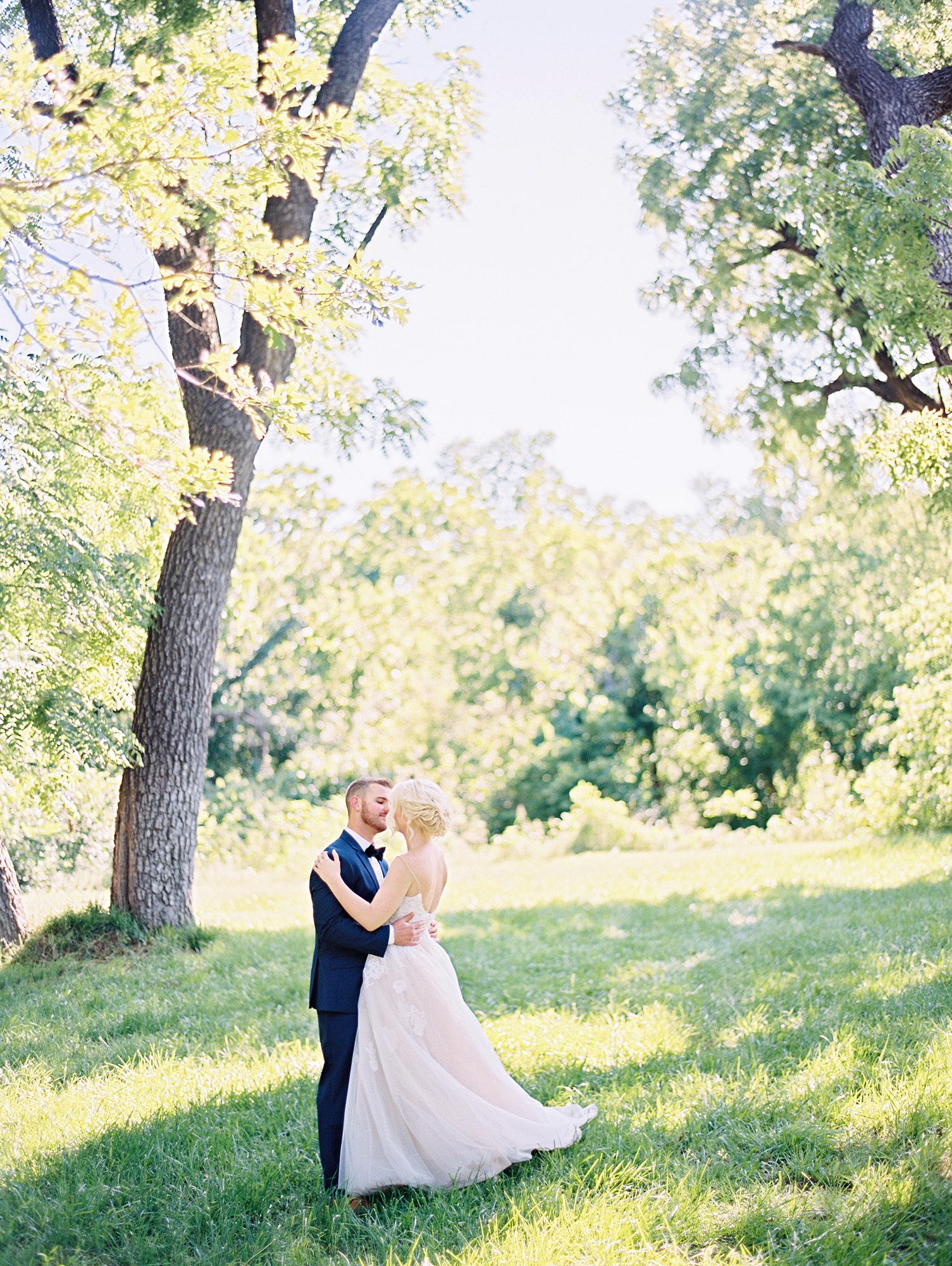 A Romantic Flower Filled Wedding In Oklahoma Martha Stewart