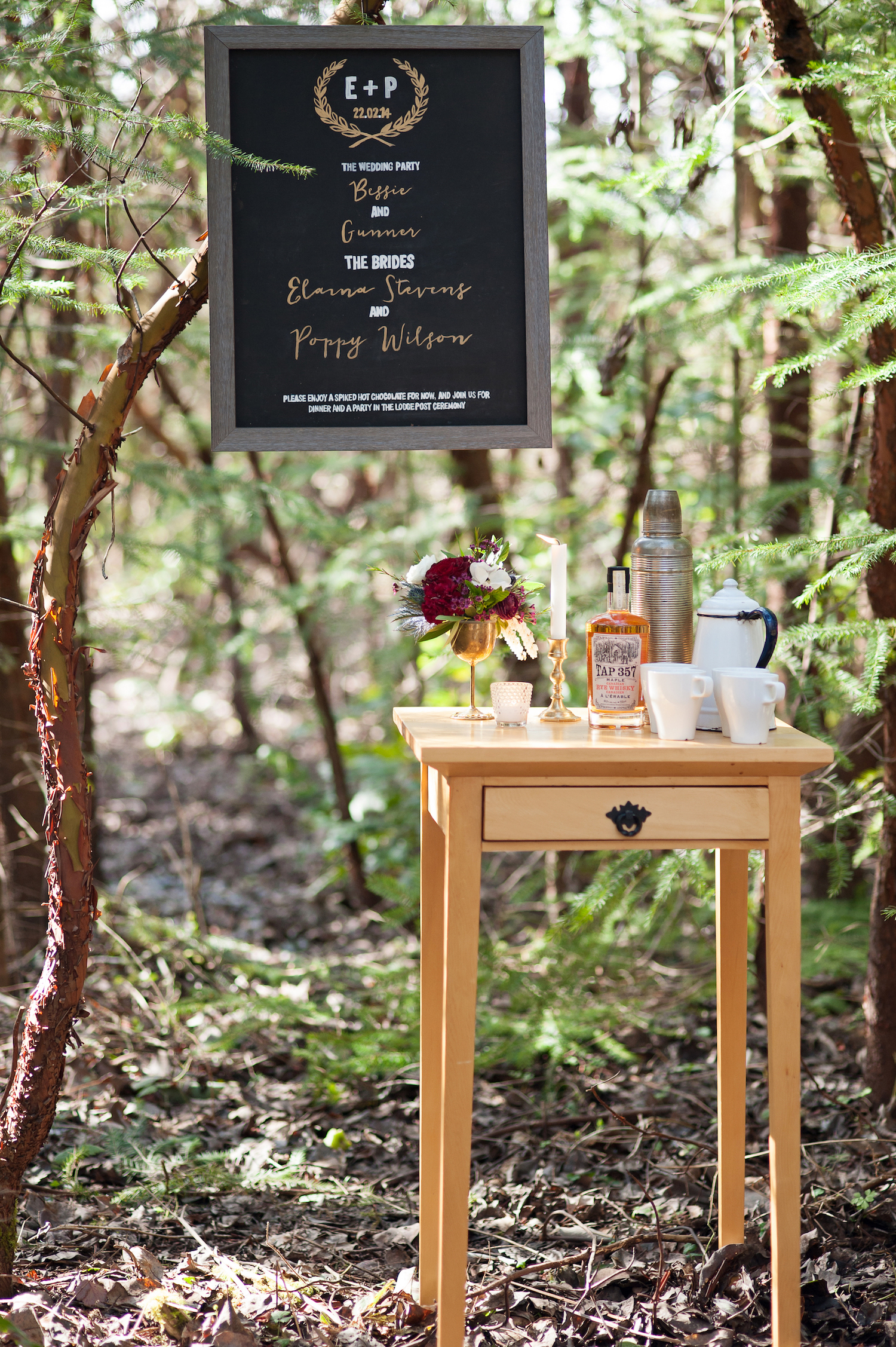 outdoor drink station