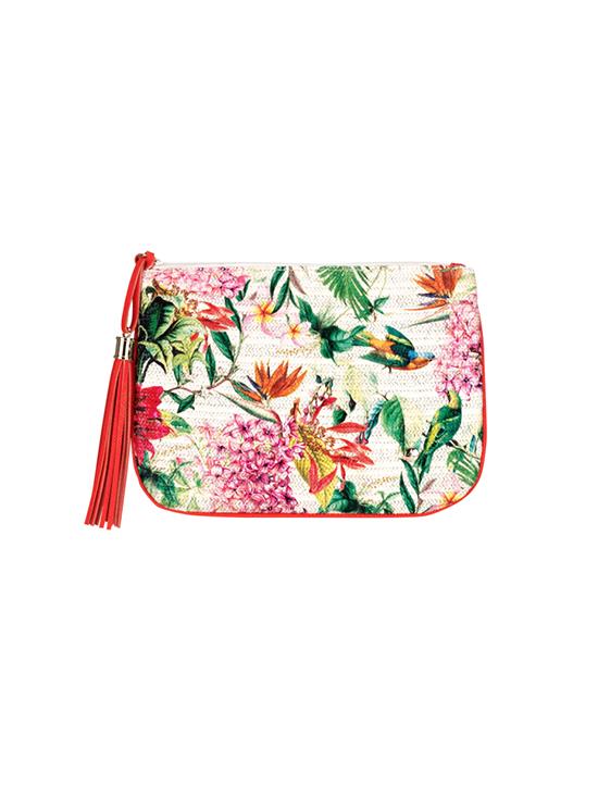 stephanie johnson floral pouch