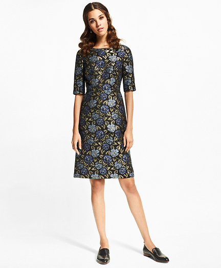 winter mother of the bride mob dresses brooks brothers