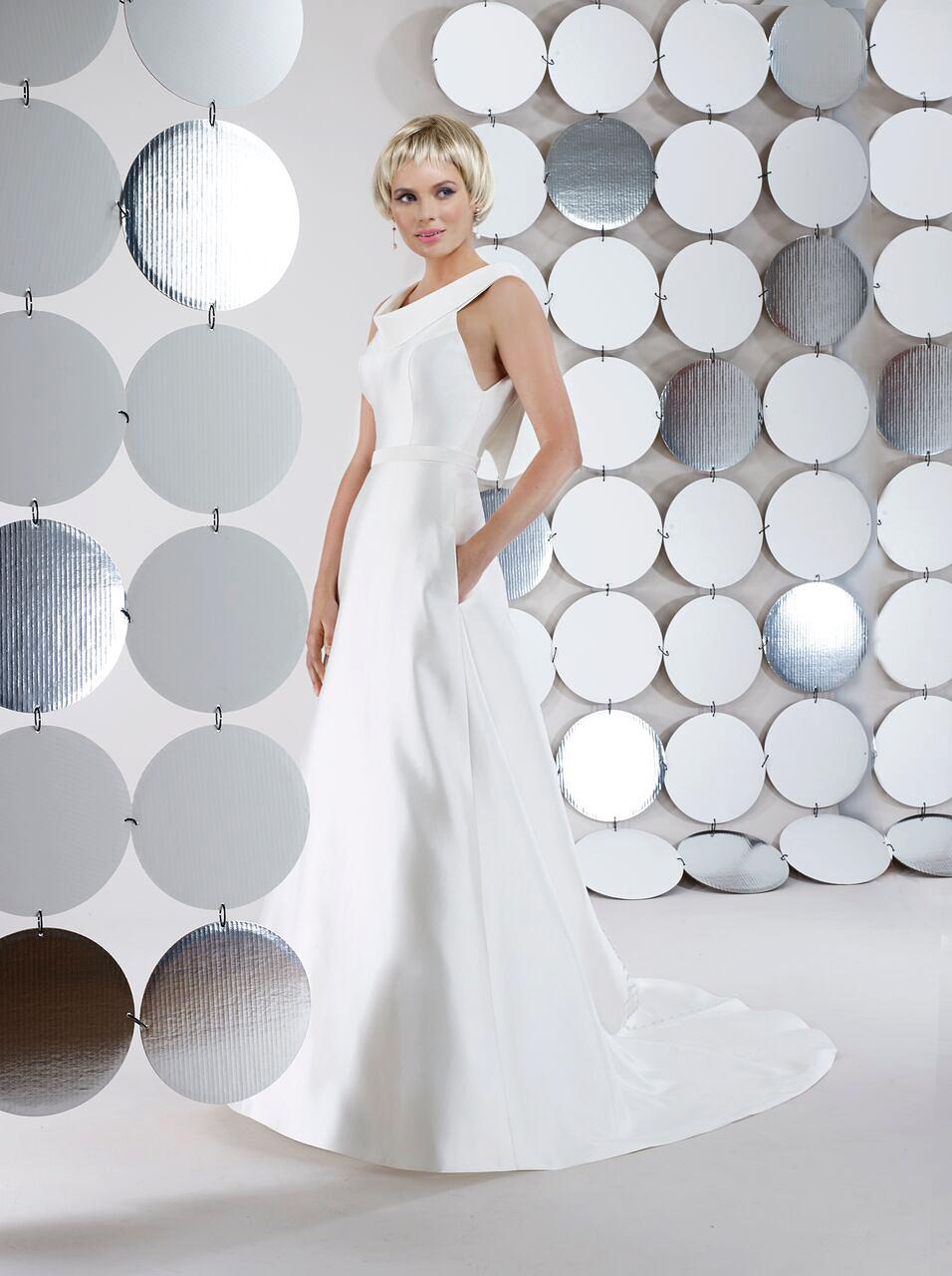 steven birnbaum bridal wedding dress fall 2018 sleeveless a line