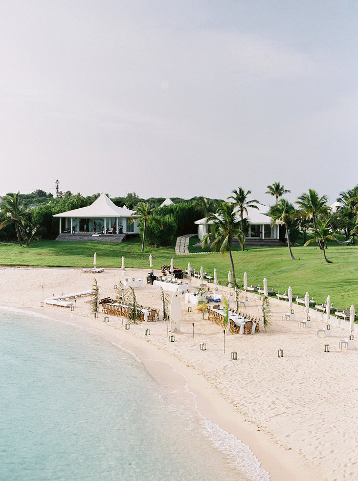 beach wedding site resort