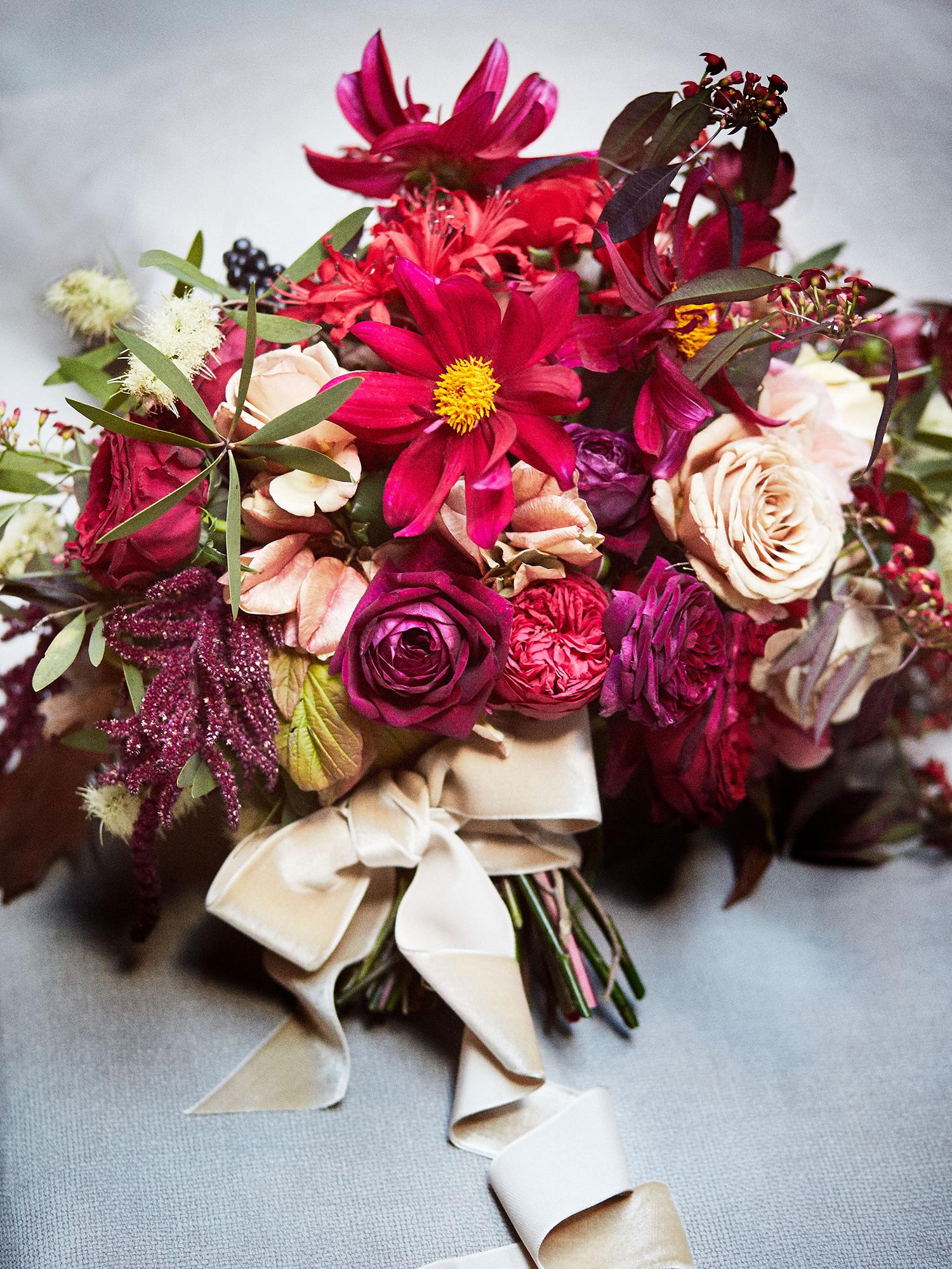 daisy eugene wedding bouquet