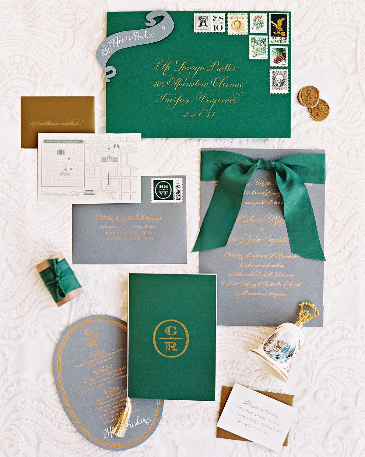 celina rob wedding virginia stationery suite