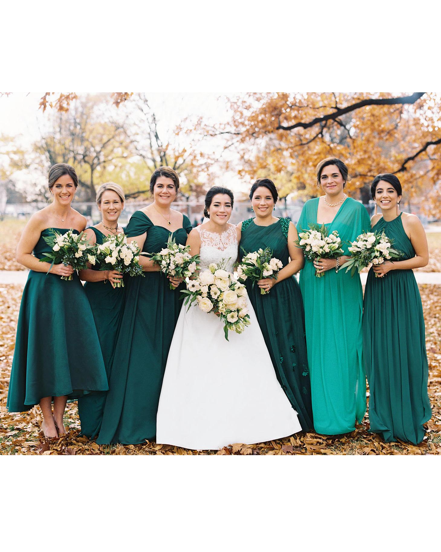 celina rob wedding virginia bridesmaids