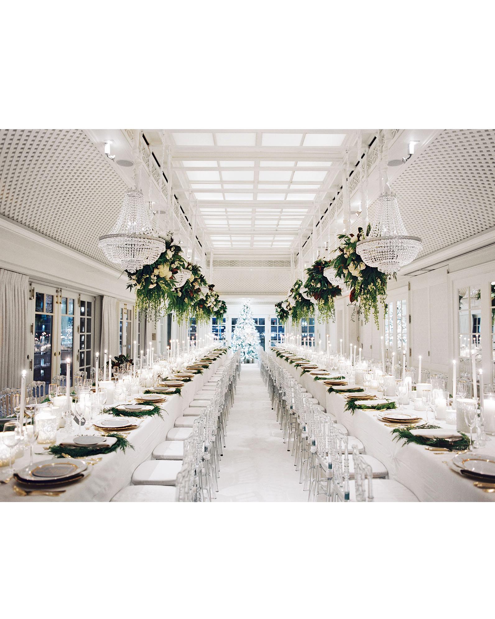 celina rob wedding virginia reception tables