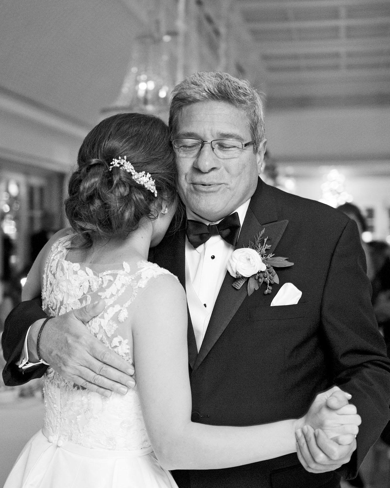 celina rob wedding virginia father dance