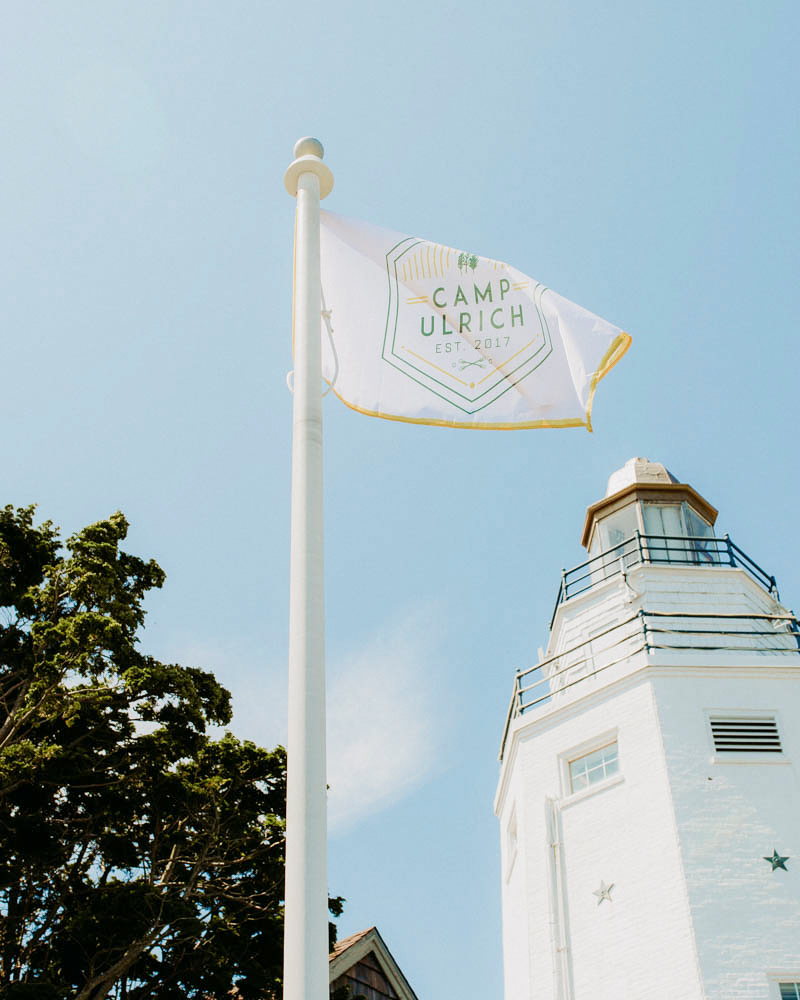 wedding flag