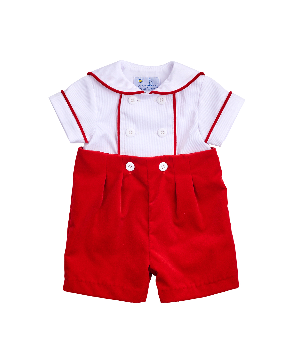 red ringbearer outfit