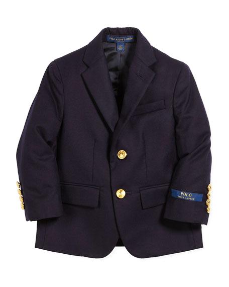 ring bearer black jacket