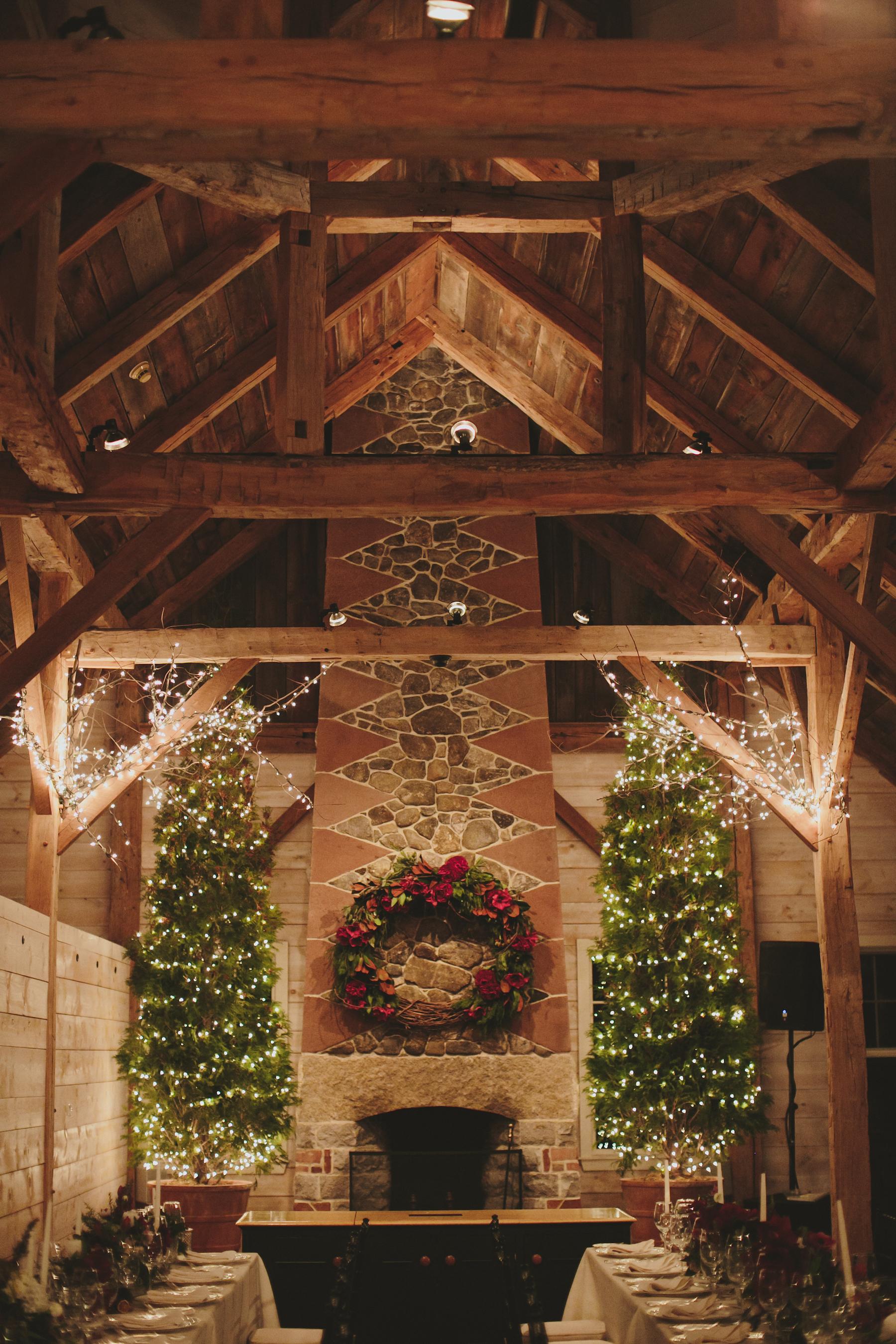 winter reception venue