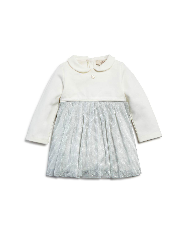 long sleeve flower girl dresses armani junior