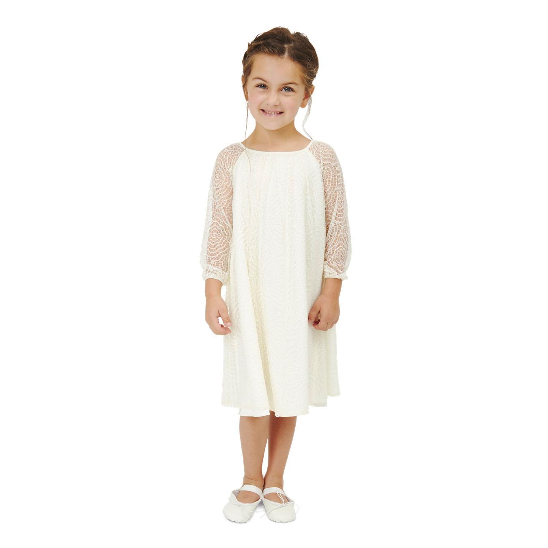 long sleeve flower girl dresses joanna august lace