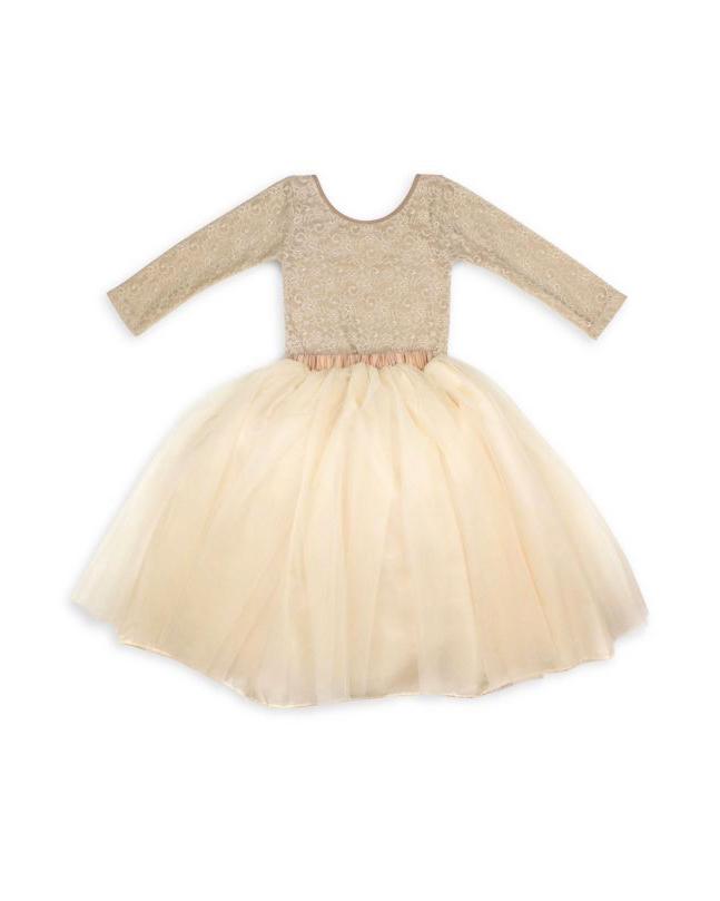 long sleeve flower girl dresses tutu couture