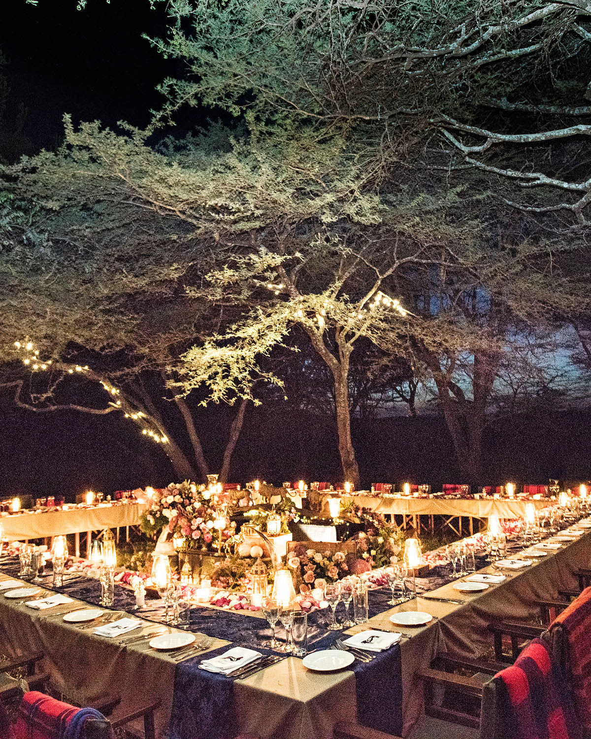 grant lance wedding africa reception table