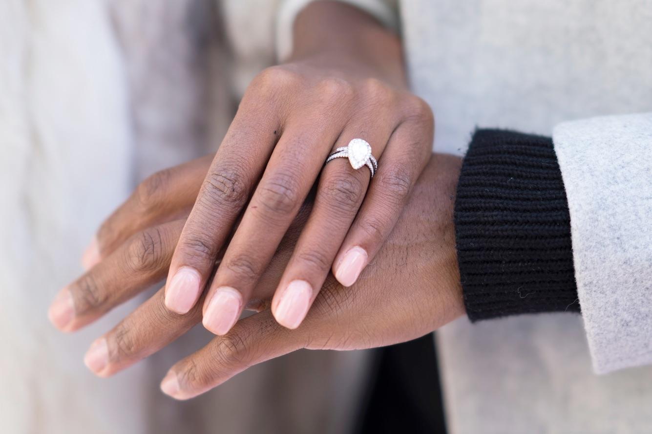 afiya bennett engagement ring