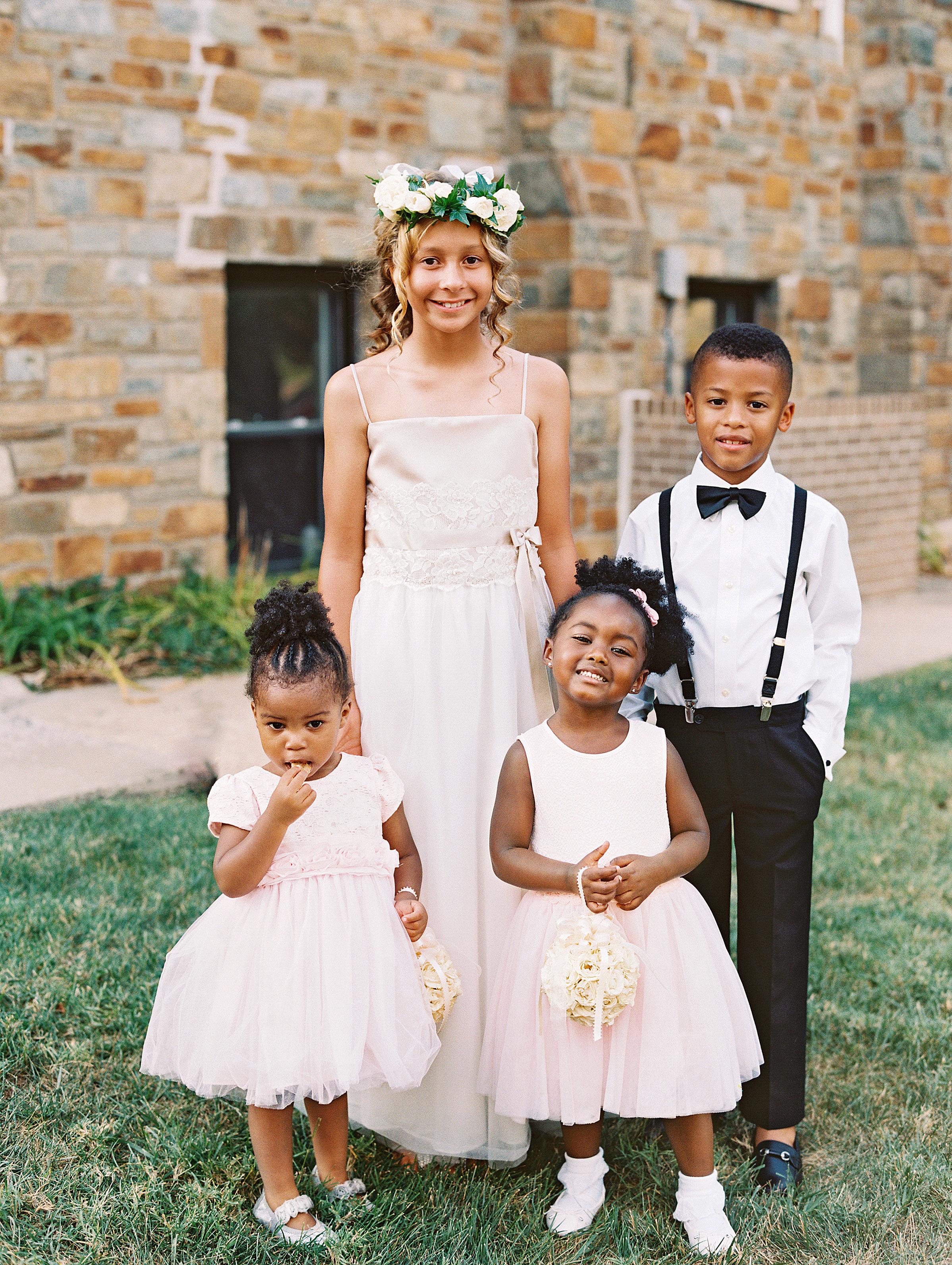 lindsey william wedding dc flower girls ring bearer