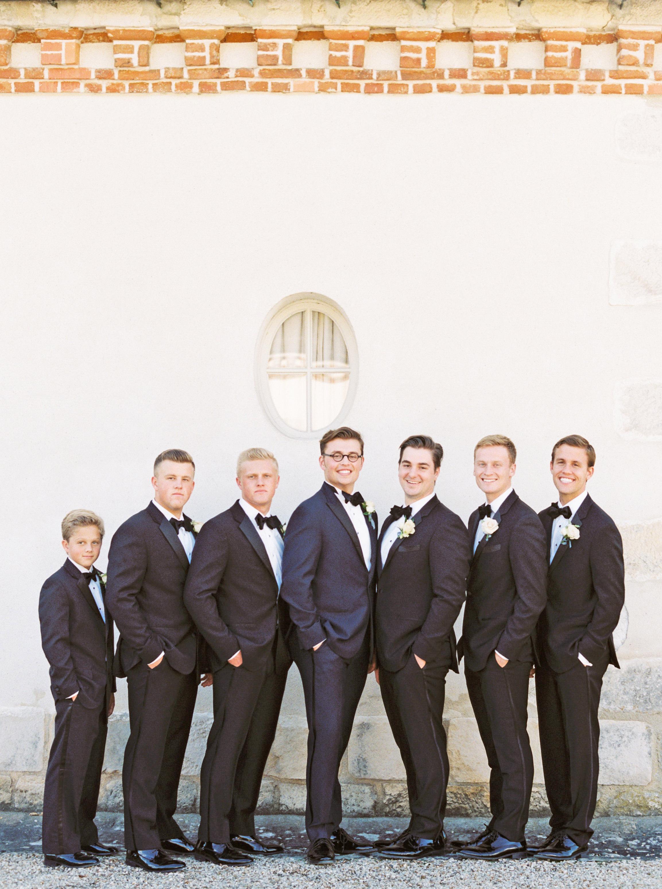 rachael cameron wedding groomsmen