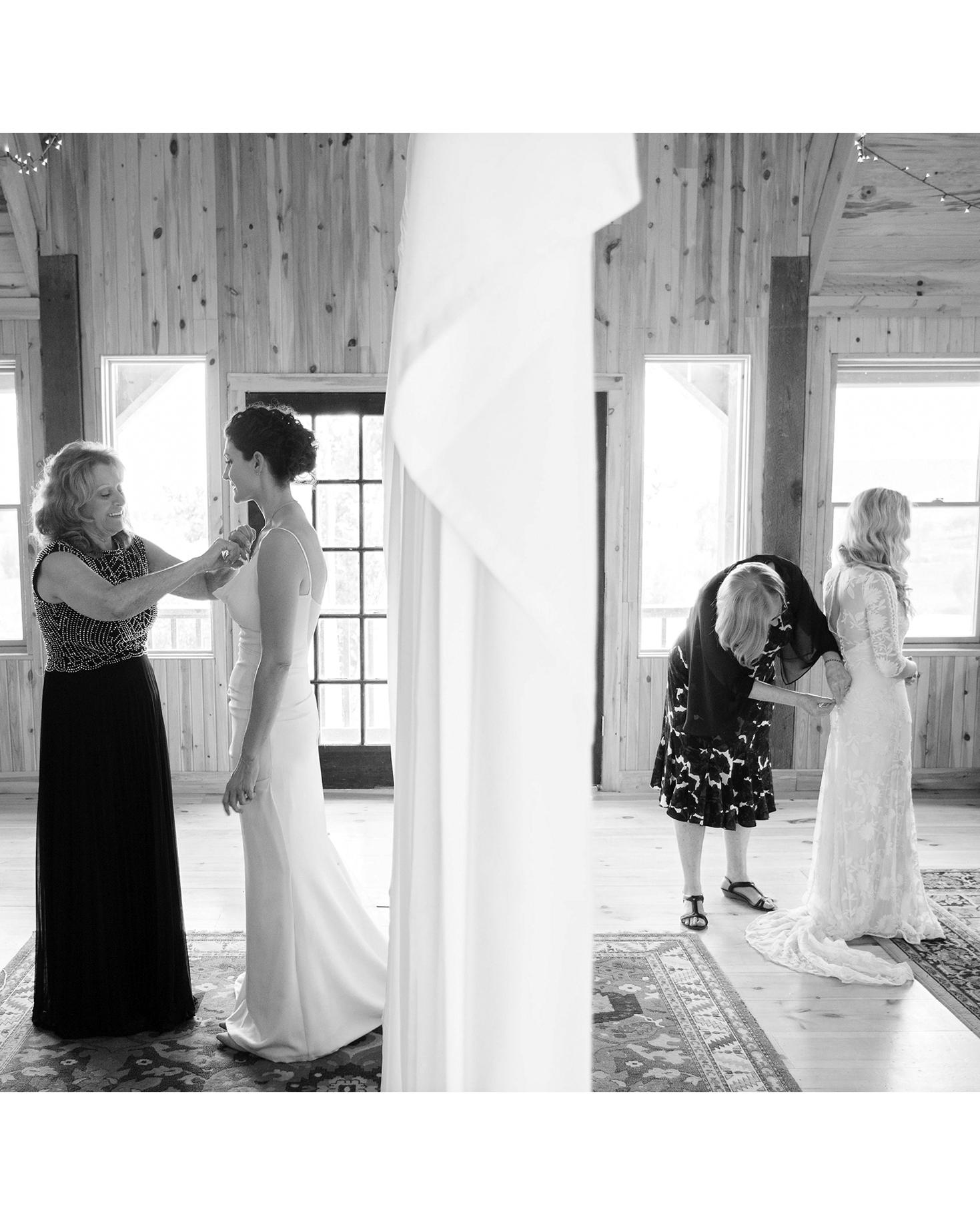 allison aimee wedding brides getting ready