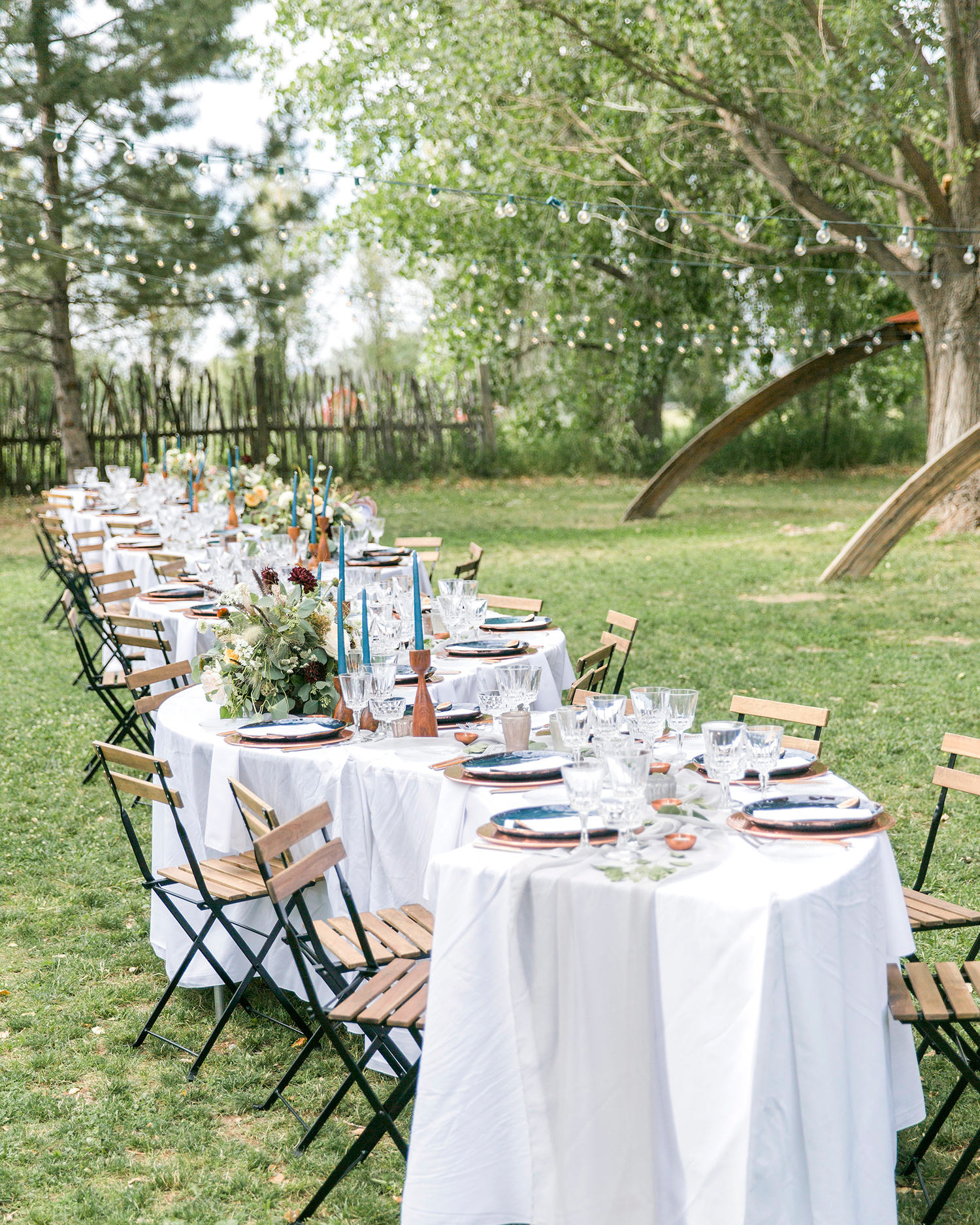 allison aimee wedding reception tables