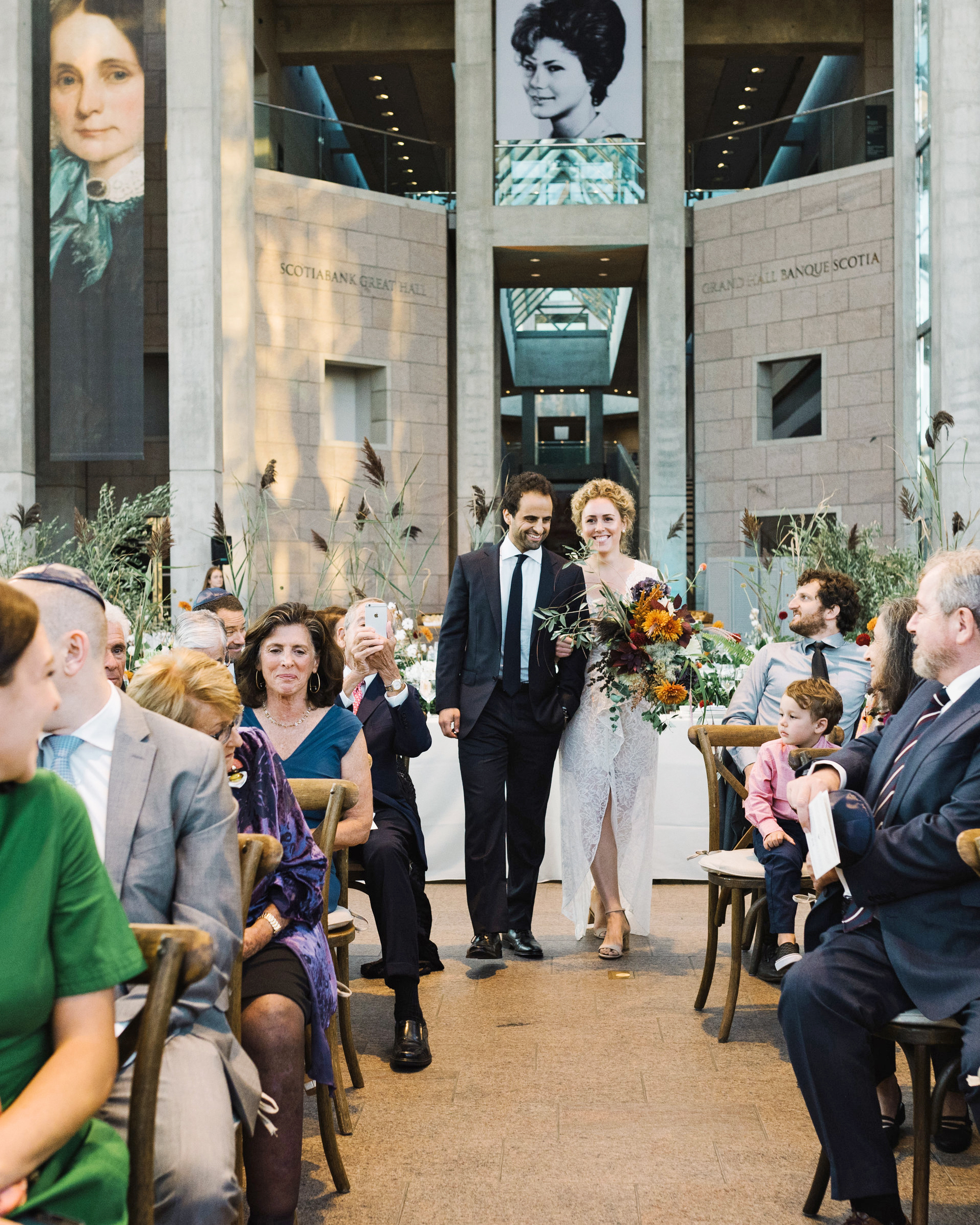 molly michael wedding processional