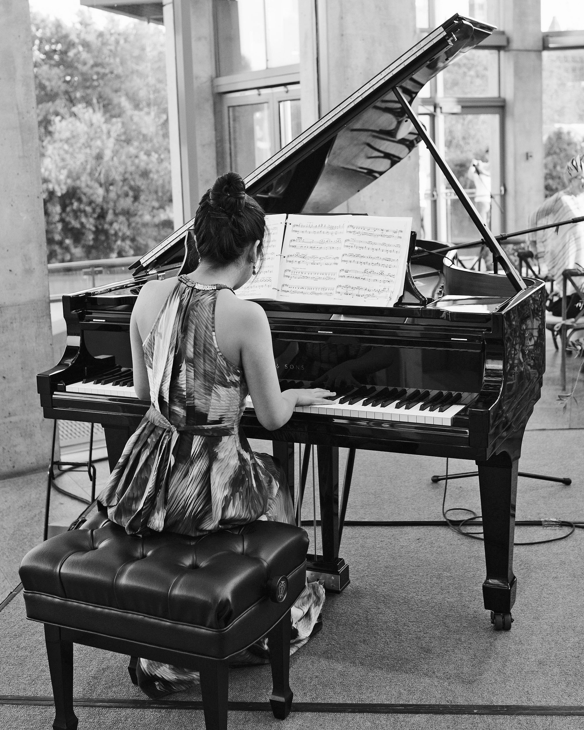 molly michael wedding pianist