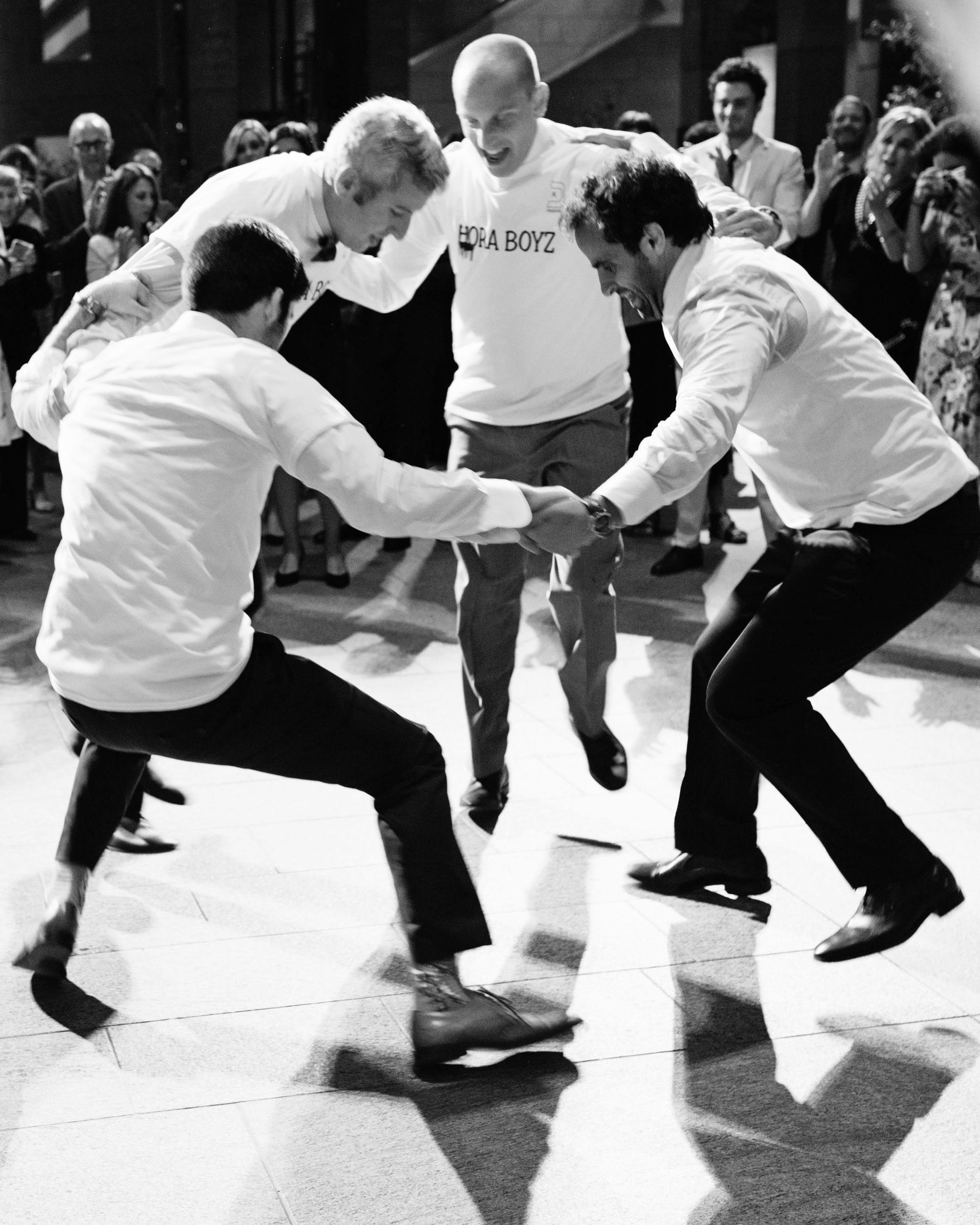 molly michael wedding hora dance