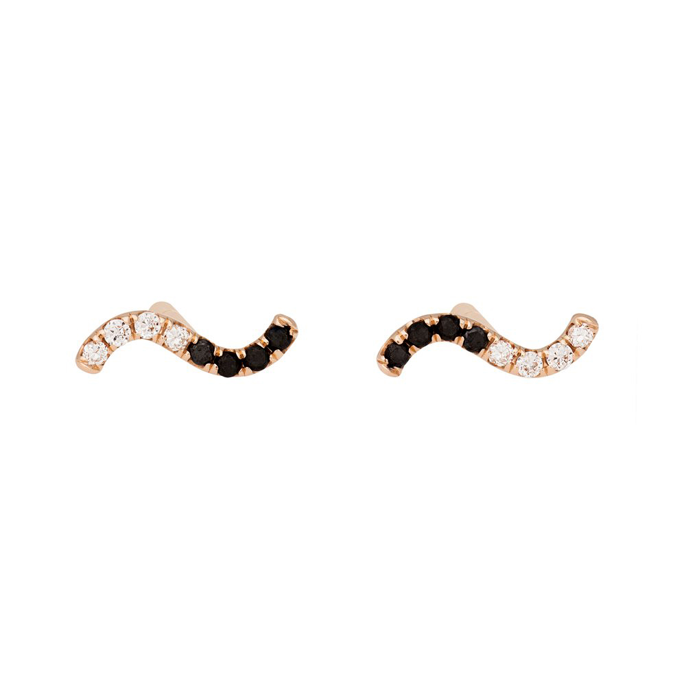 curved earring