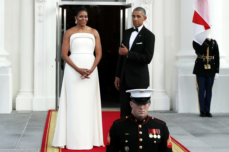 michelle obama white gown brandon maxwell